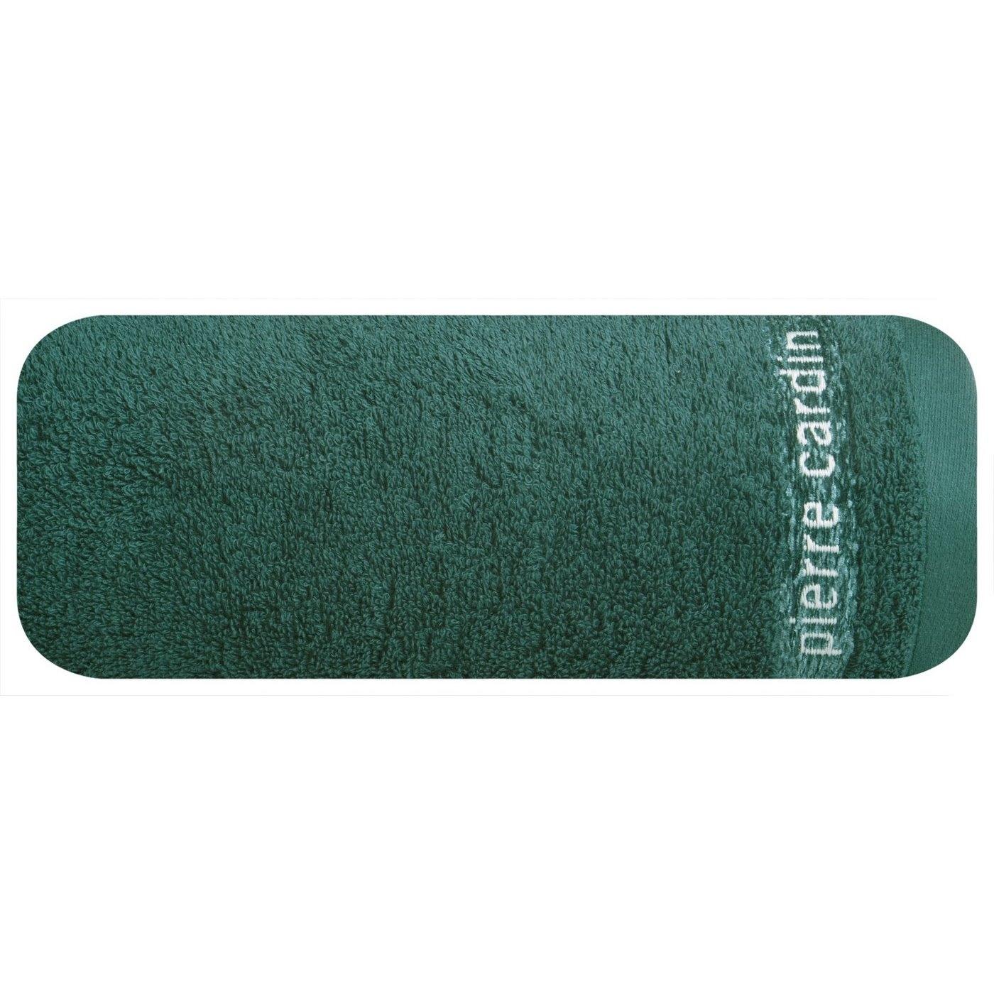 Prosop baie din bumbac Tom Pierre Cardin Verde inchis poza