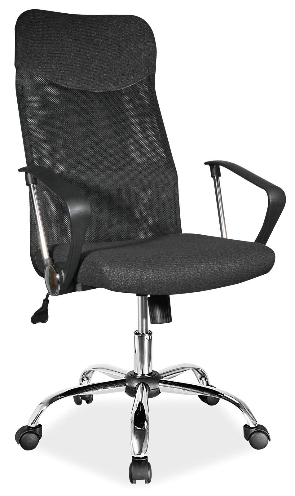Scaun de birou ergonomic Q-025 Black