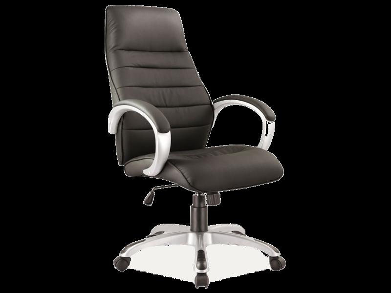 Scaun de birou directorial Q-046 Negru somproduct.ro