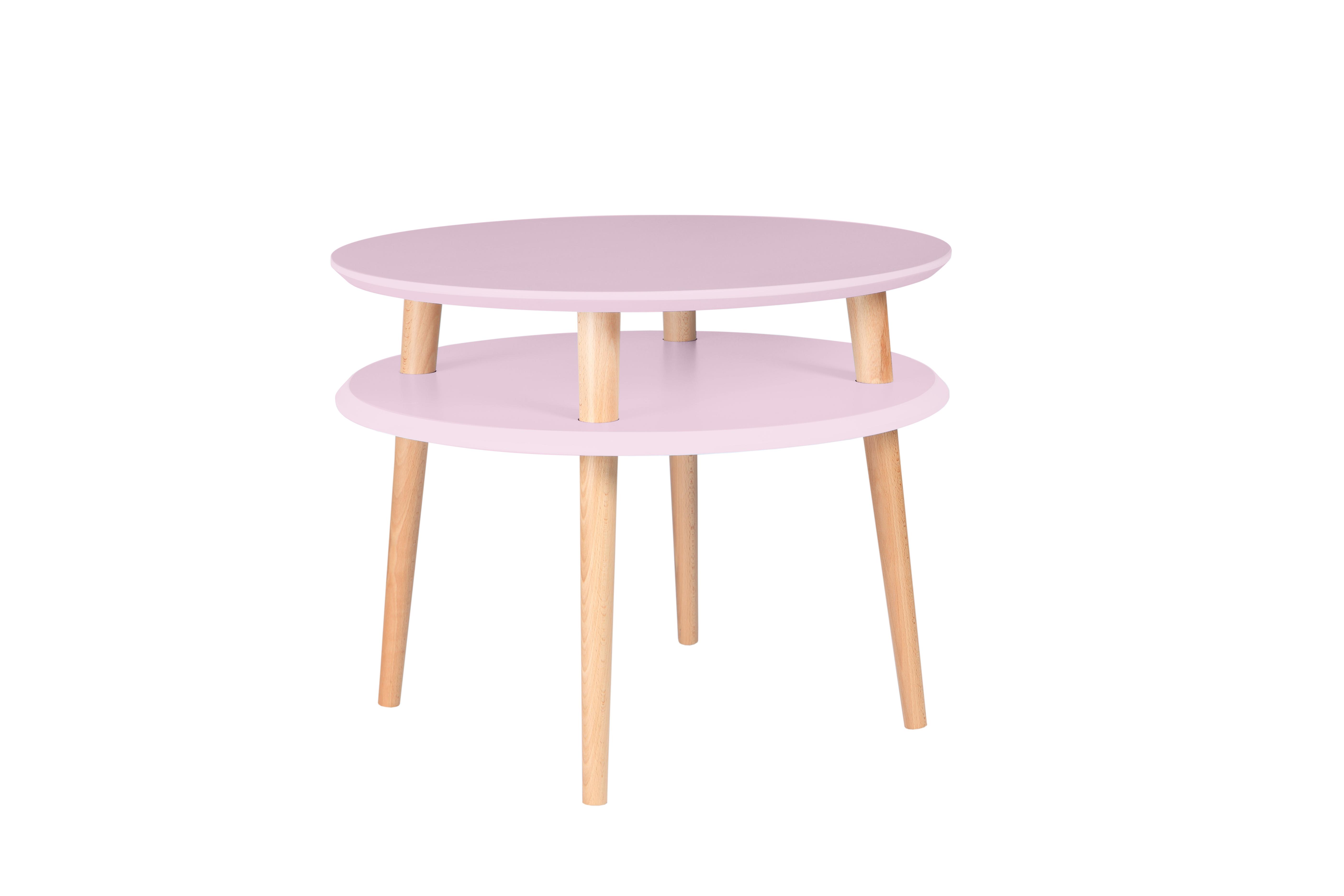 Masa de cafea Ufo Medium Dusky Pink, Ø57xh45 cm