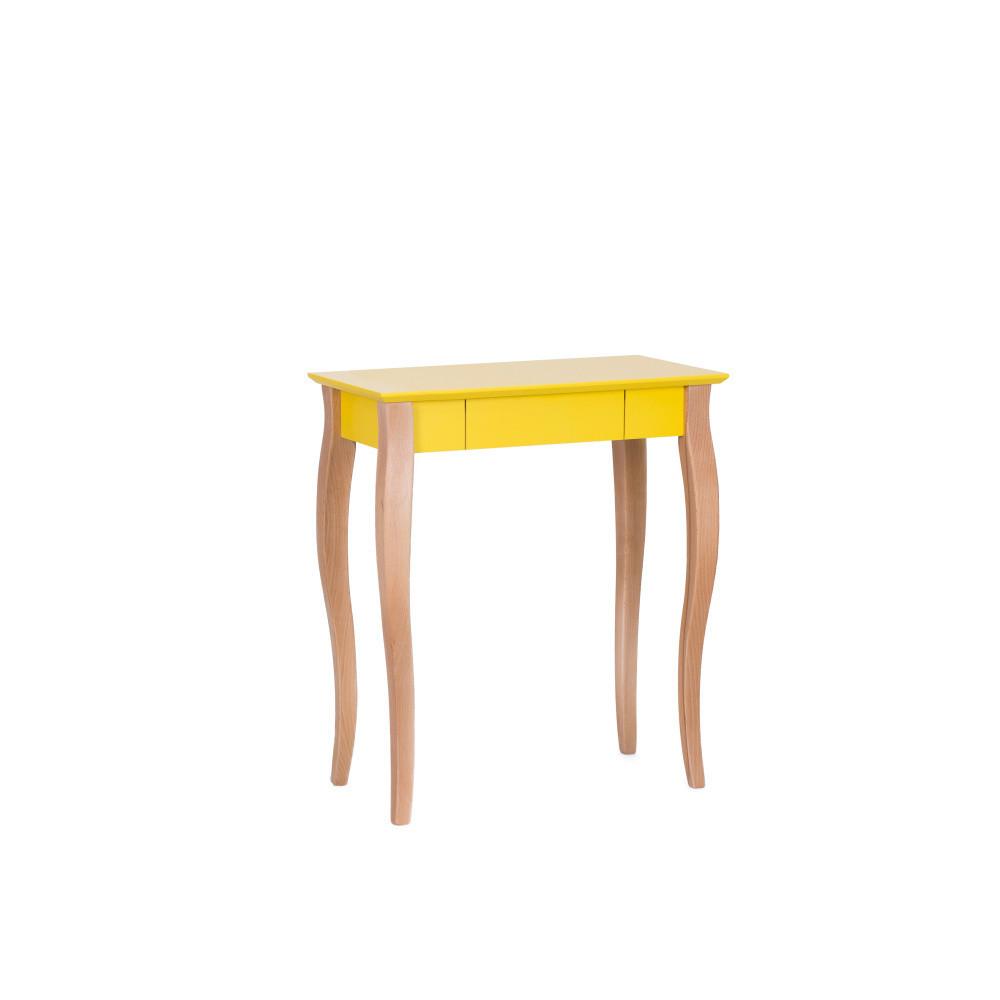Masa de birou Lillo Small Yellow, L65xl40xh74 cm