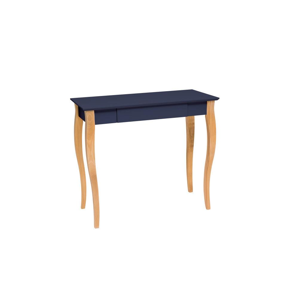 Masa de birou Lillo Medium Graphite, L85xl40xh74 cm