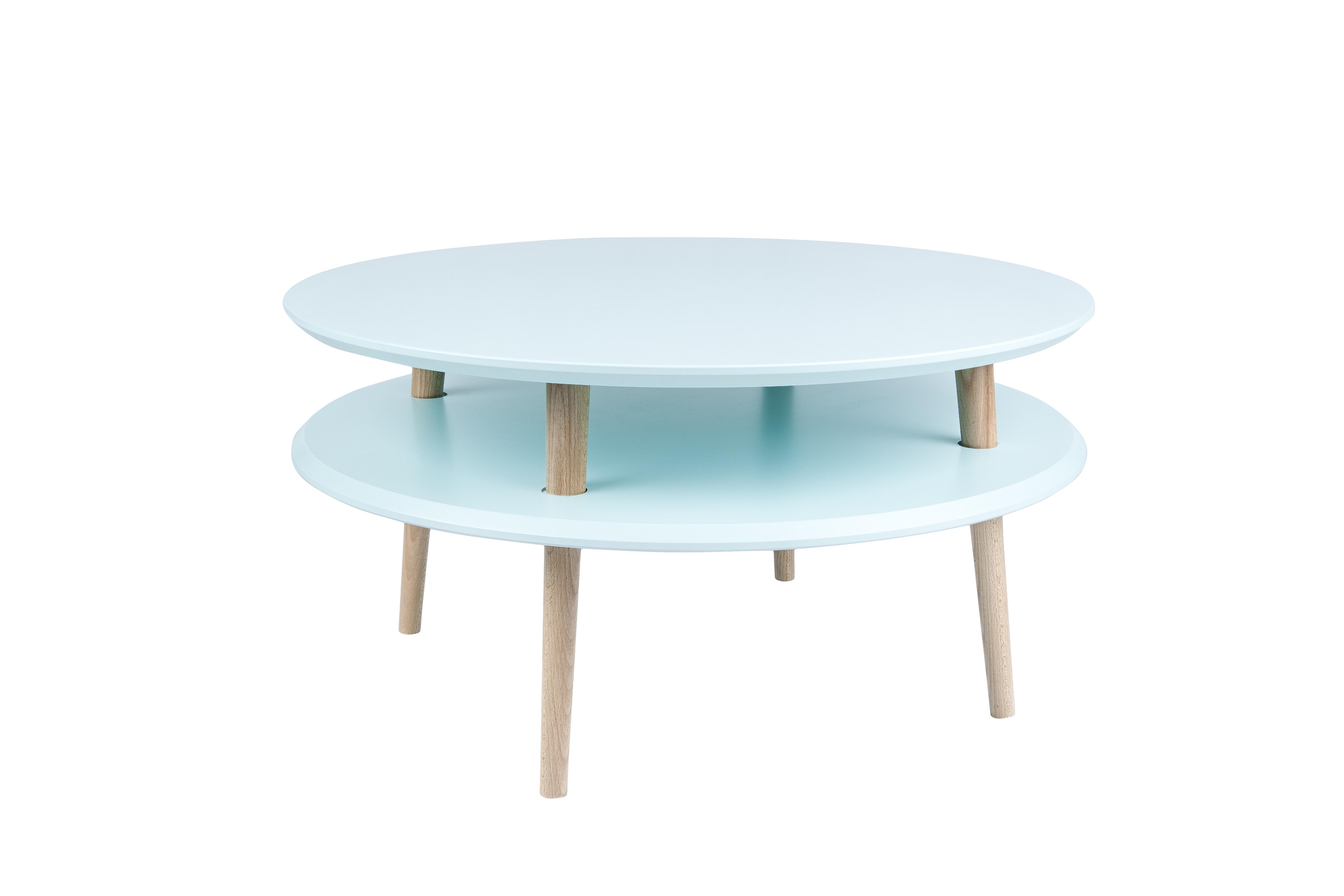 Masa de cafea Ufo Low Light Turquoise, Ø70xh35 cm