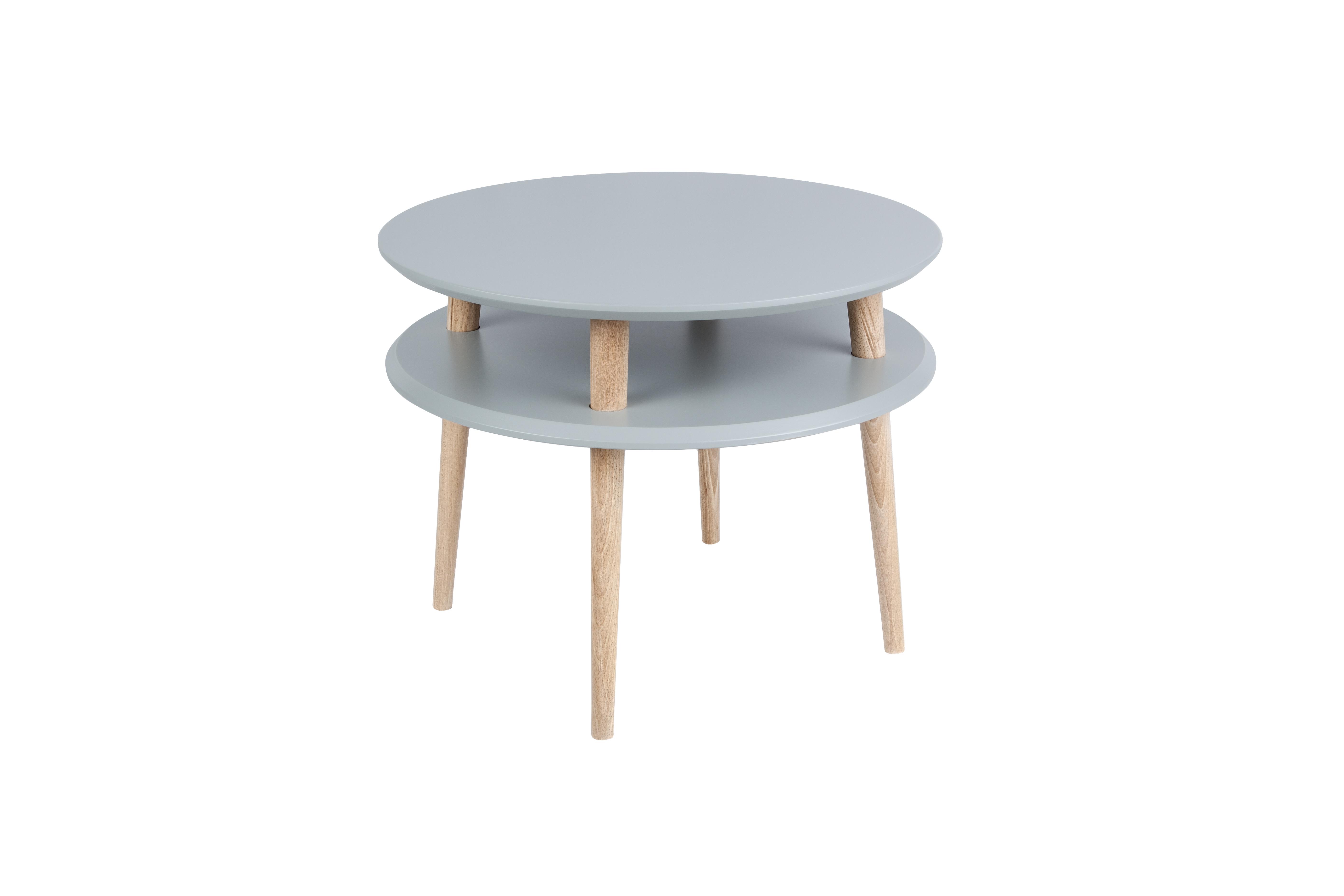 Masa de cafea Ufo Medium Dark Grey, Ø57xh45 cm
