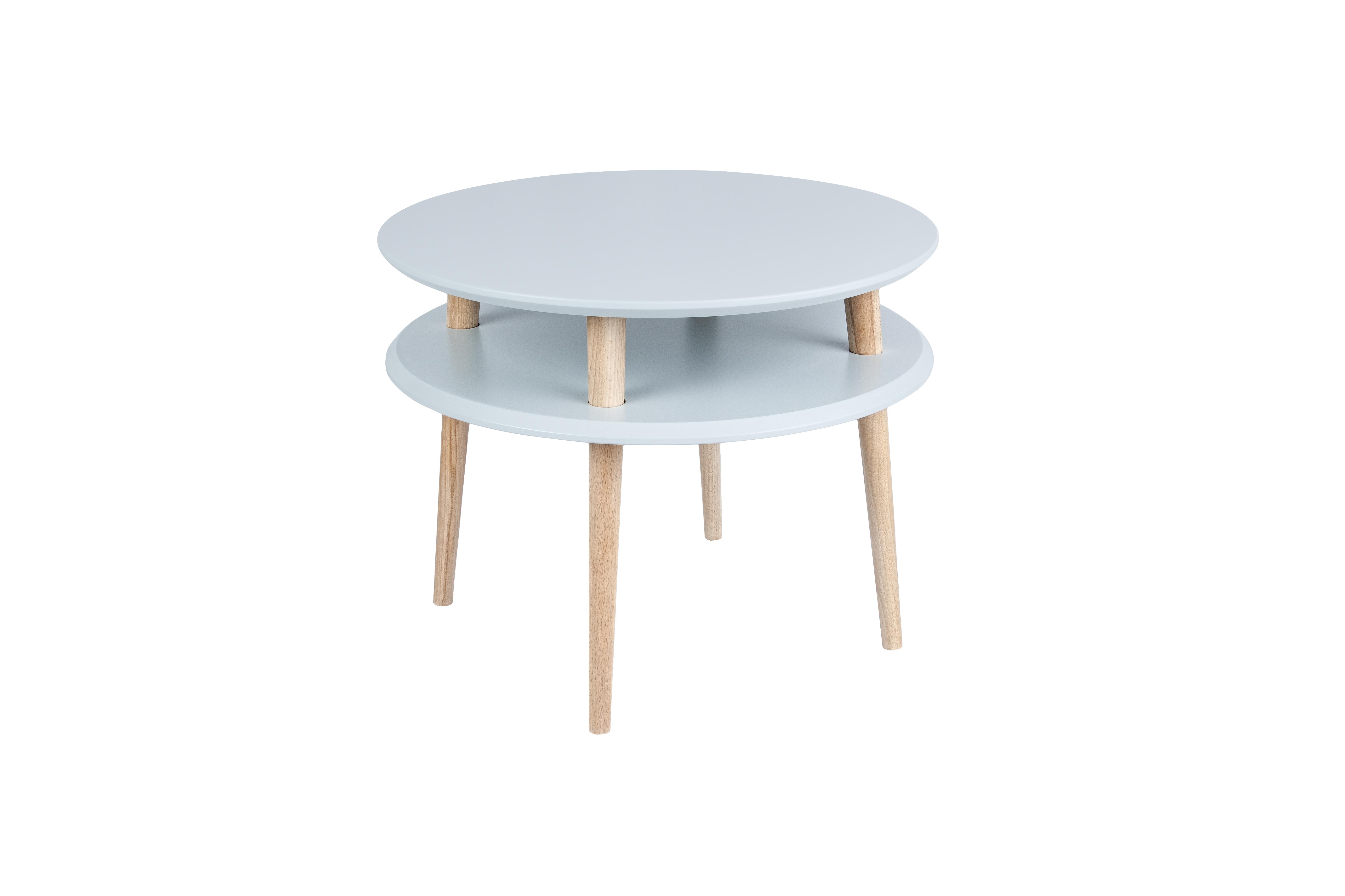 Masa de cafea Ufo Medium Light Grey, Ø57xh45 cm