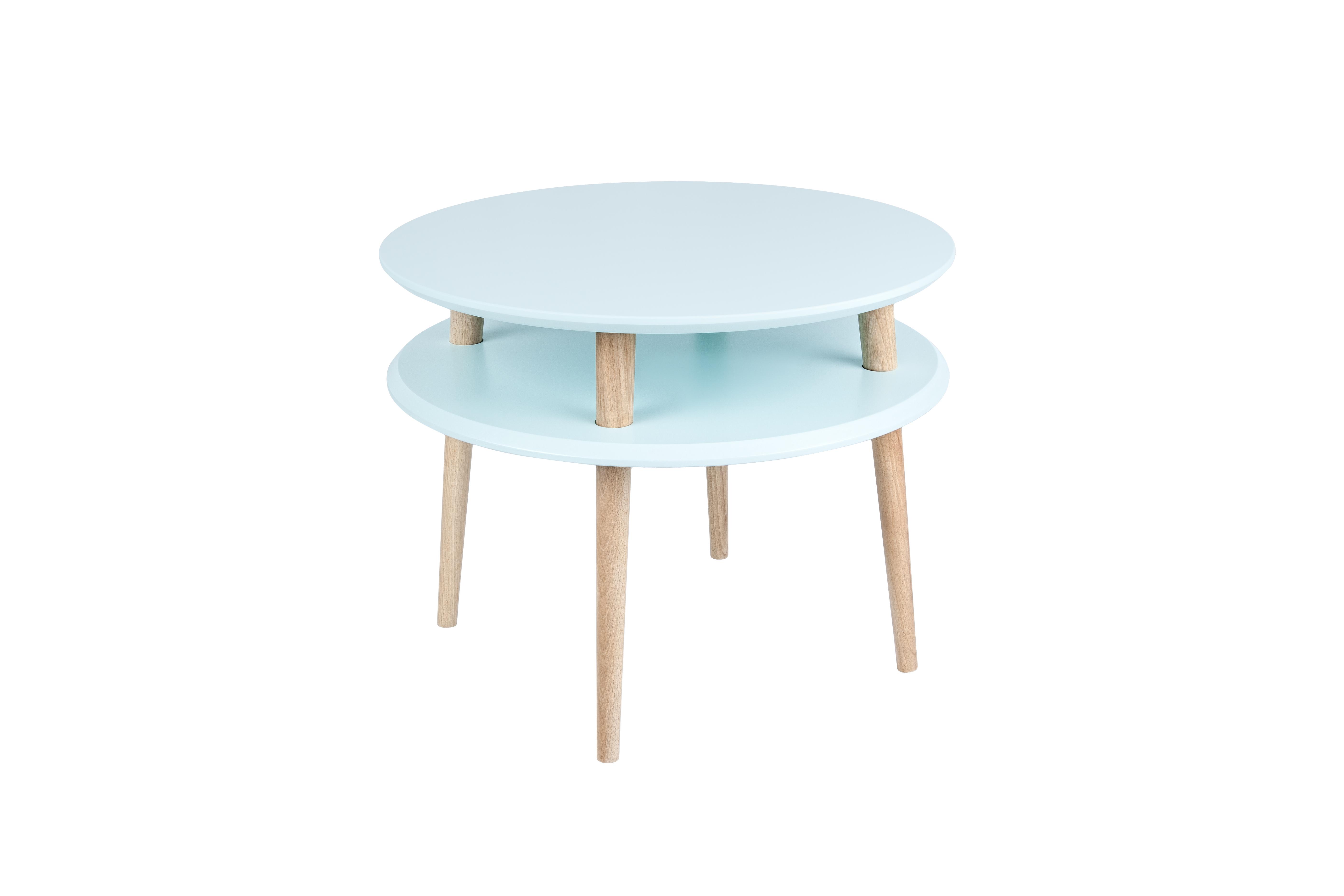 Masa de cafea Ufo Medium Light Turquoise, Ø57xh45 cm