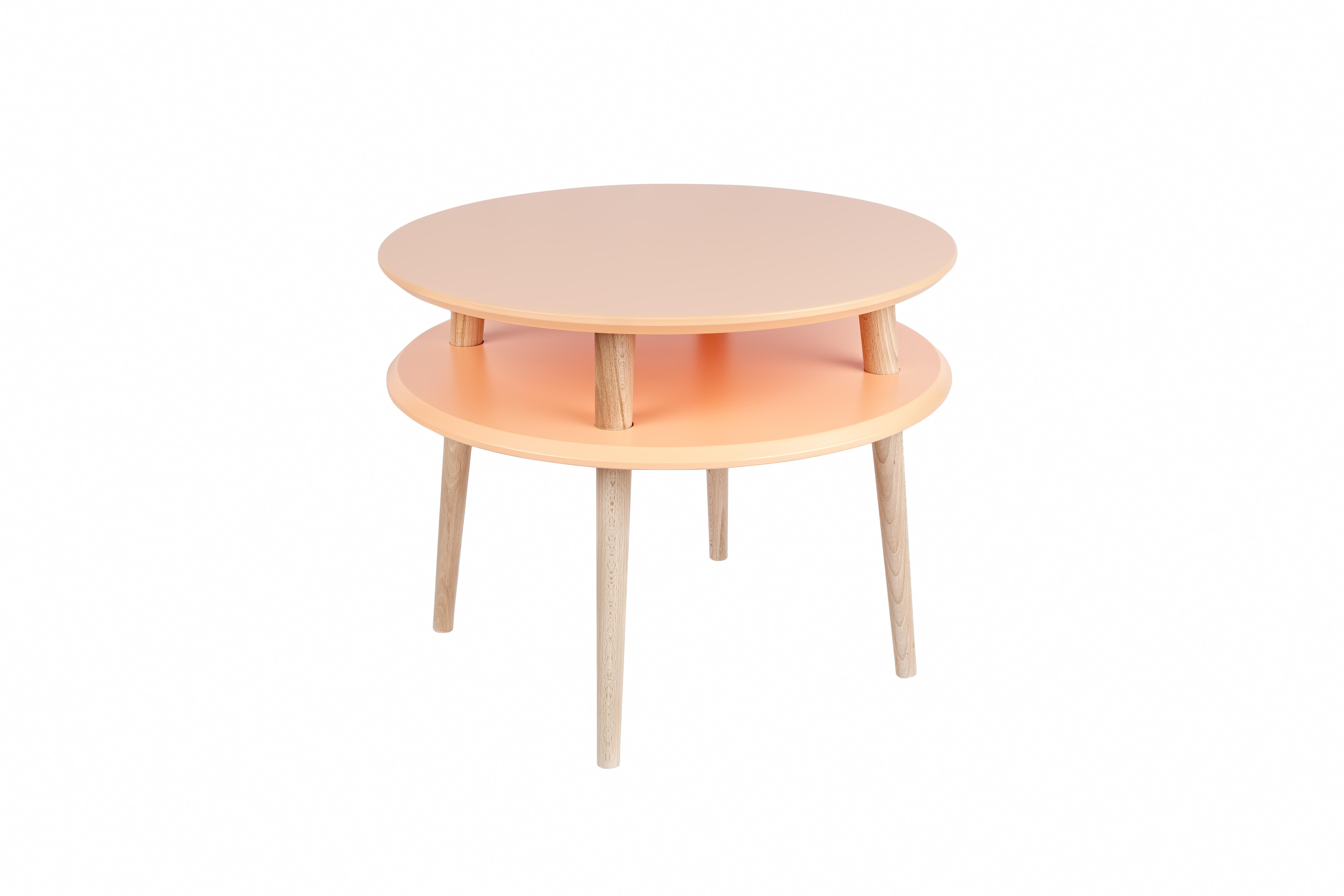 Masa de cafea Ufo Medium Orange, Ø57xh45 cm