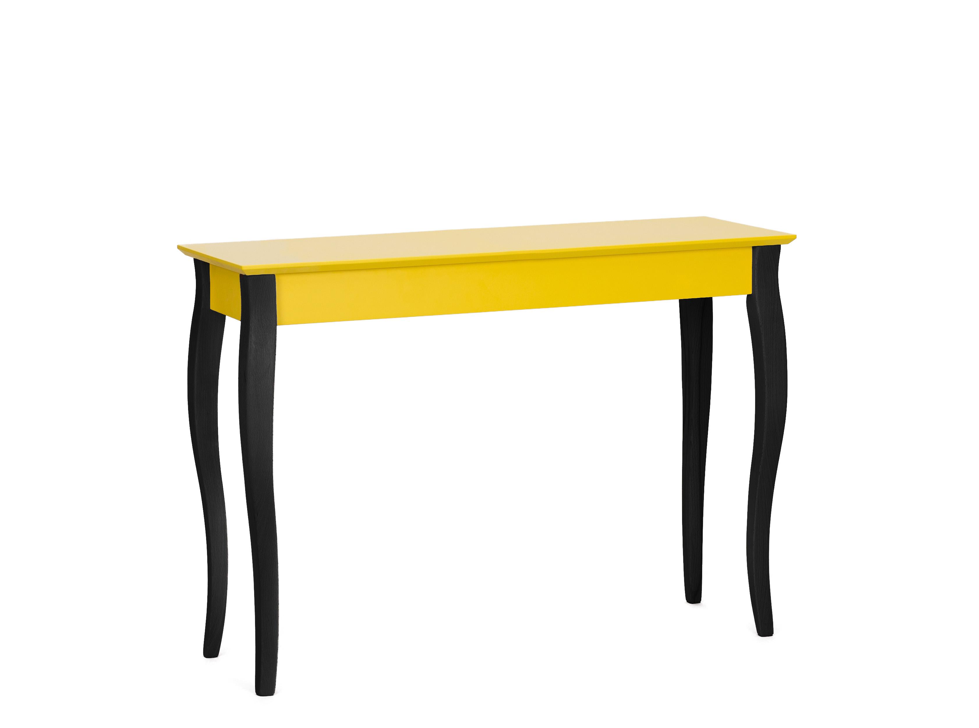 Consola Lillo Large Yellow / Black, L105xl40xh74 cm