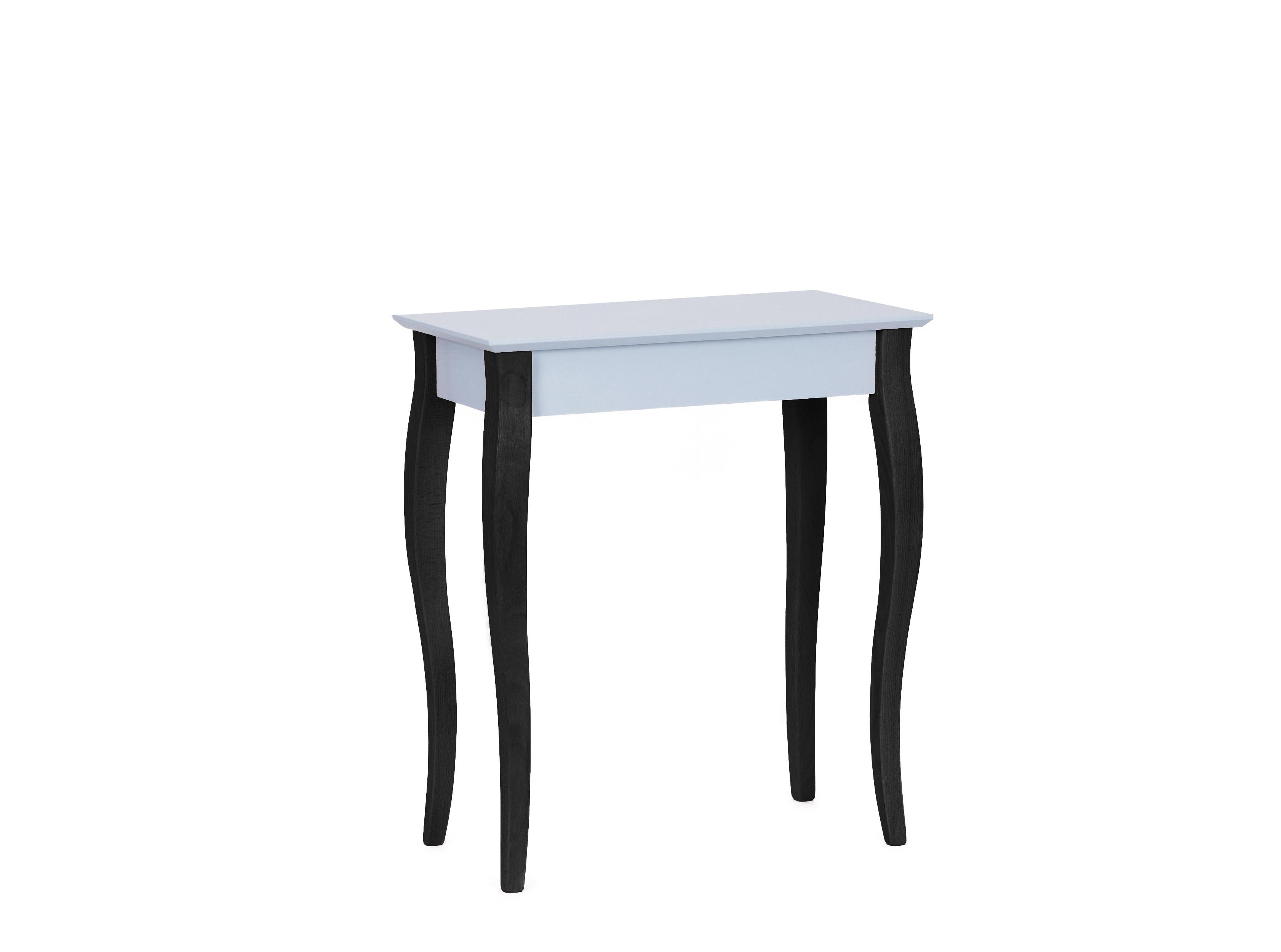 Consola Lillo Small Light Grey / Black, L65xl40xh74 cm