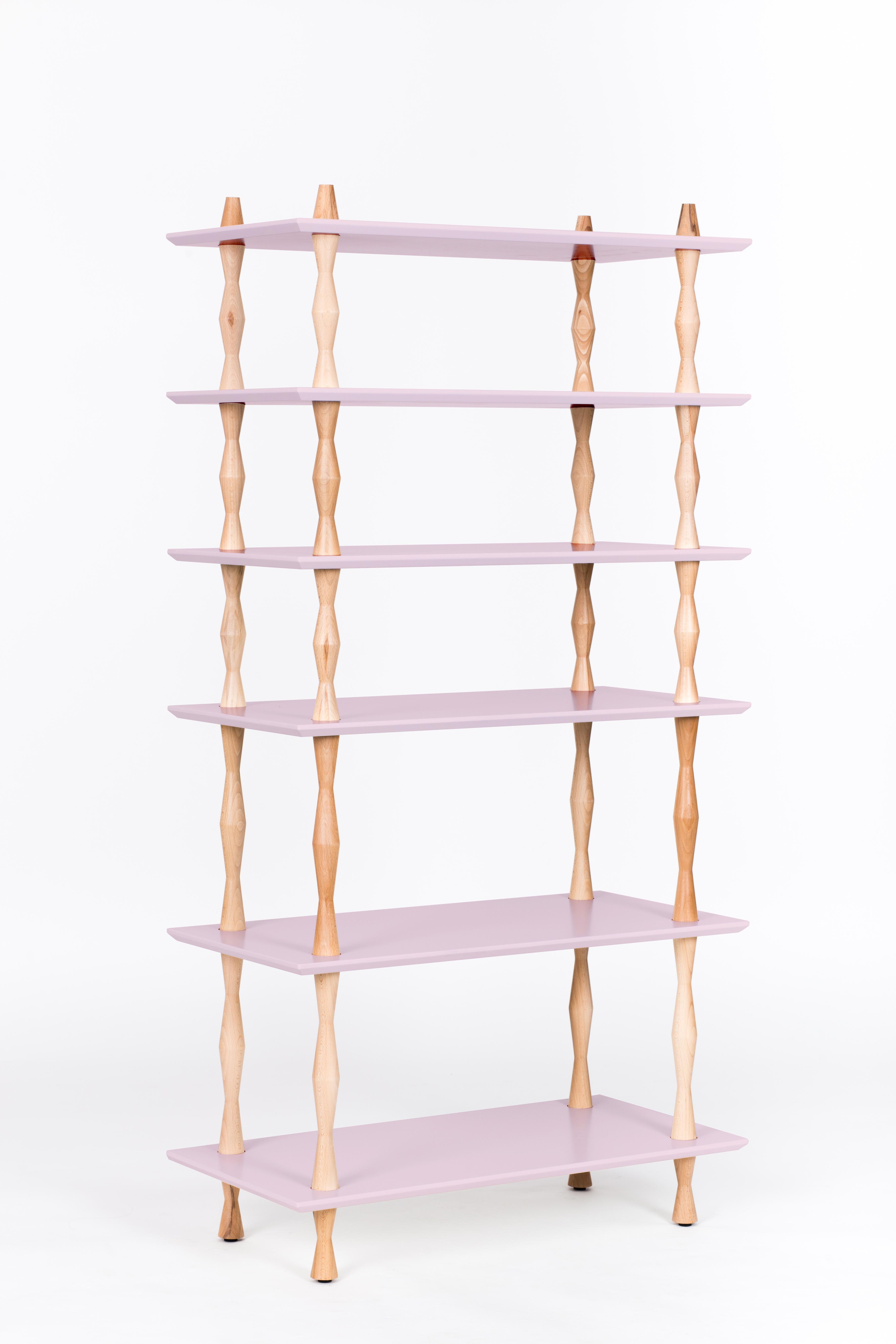 Raft Korro Dusky Pink, L80xl40xh165 cm