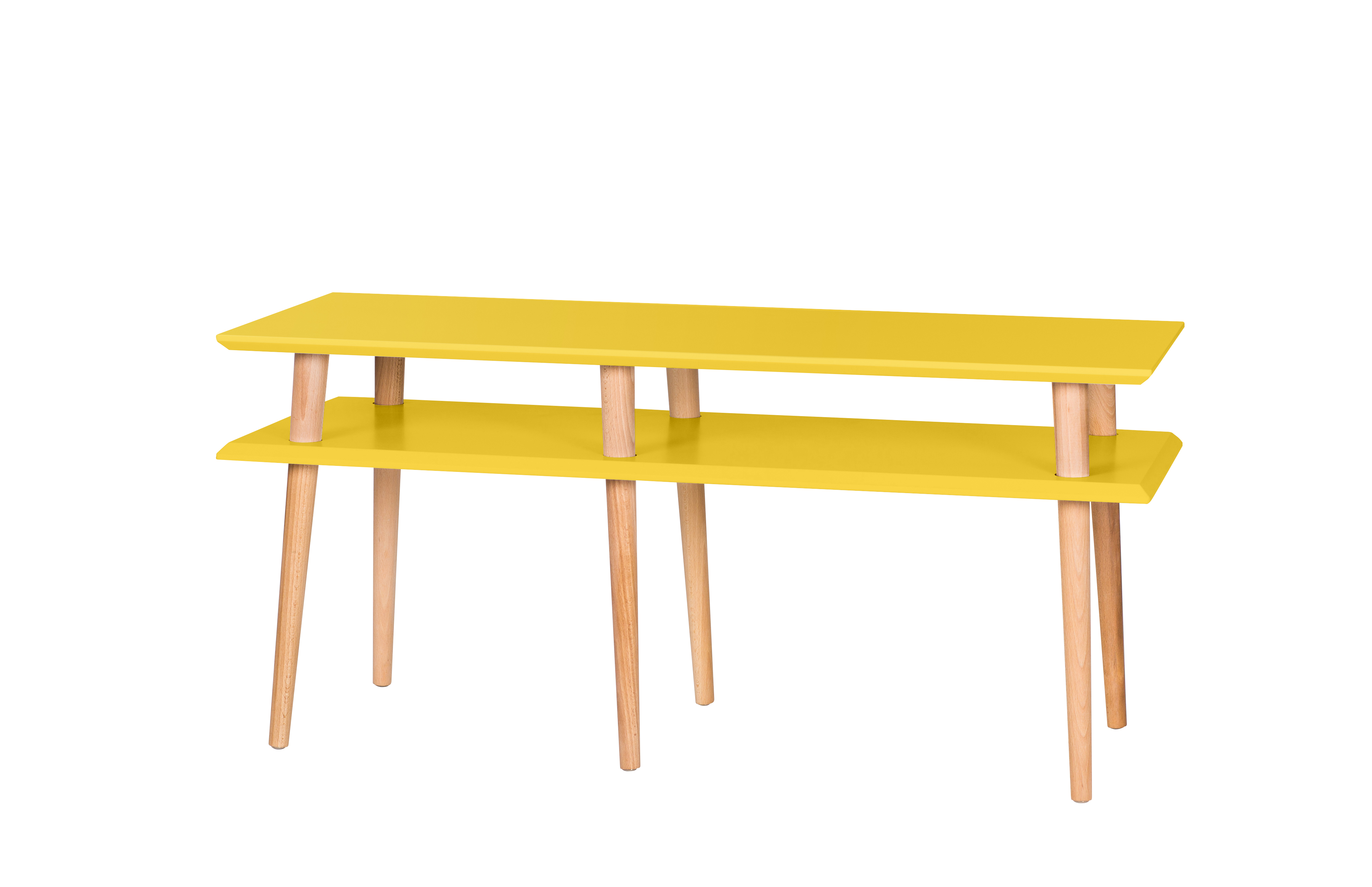 Comoda Mugo Yellow l119xA40xH45 cm