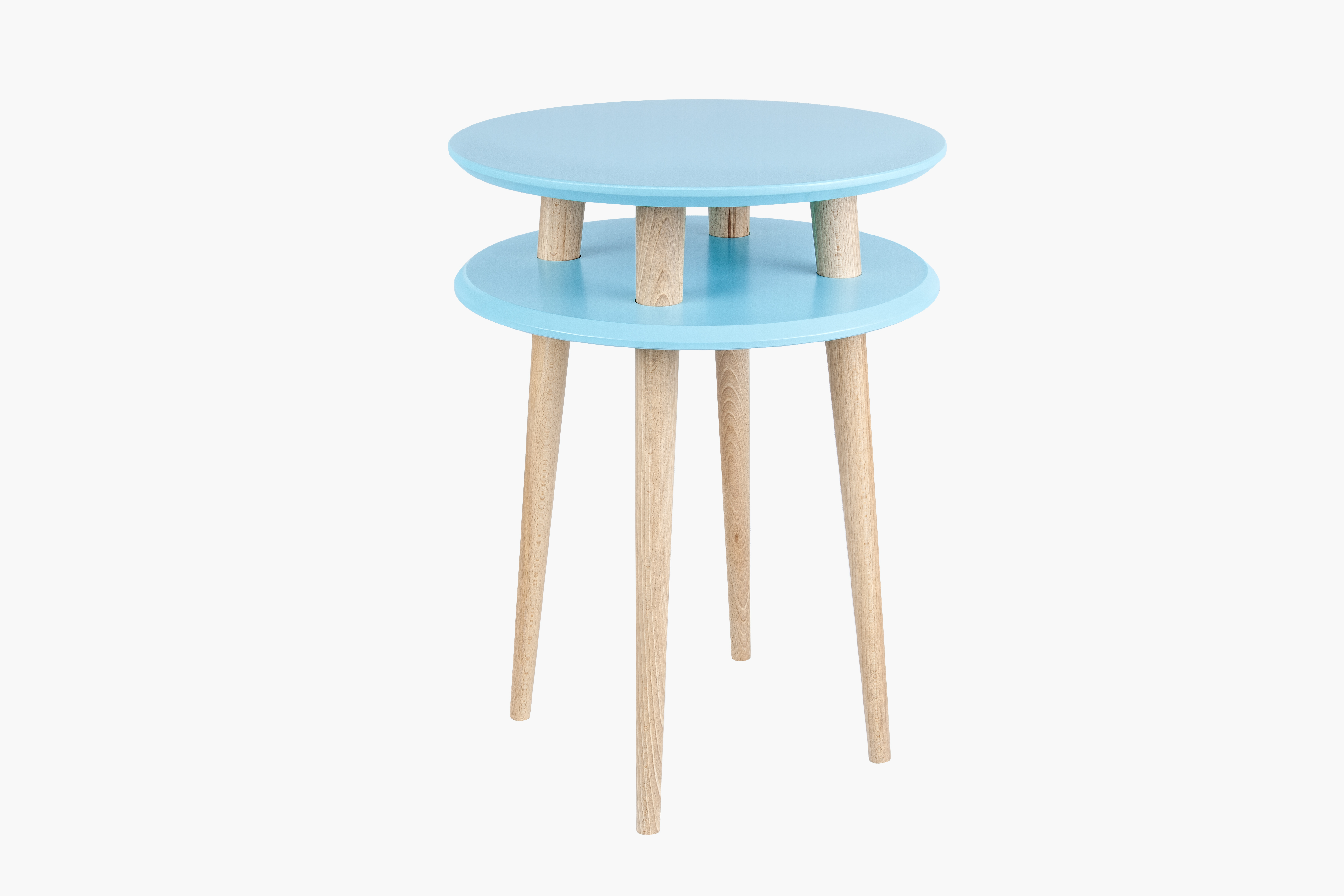 Masa de cafea Ufo High Dark Turquoise, Ø45xh61 cm