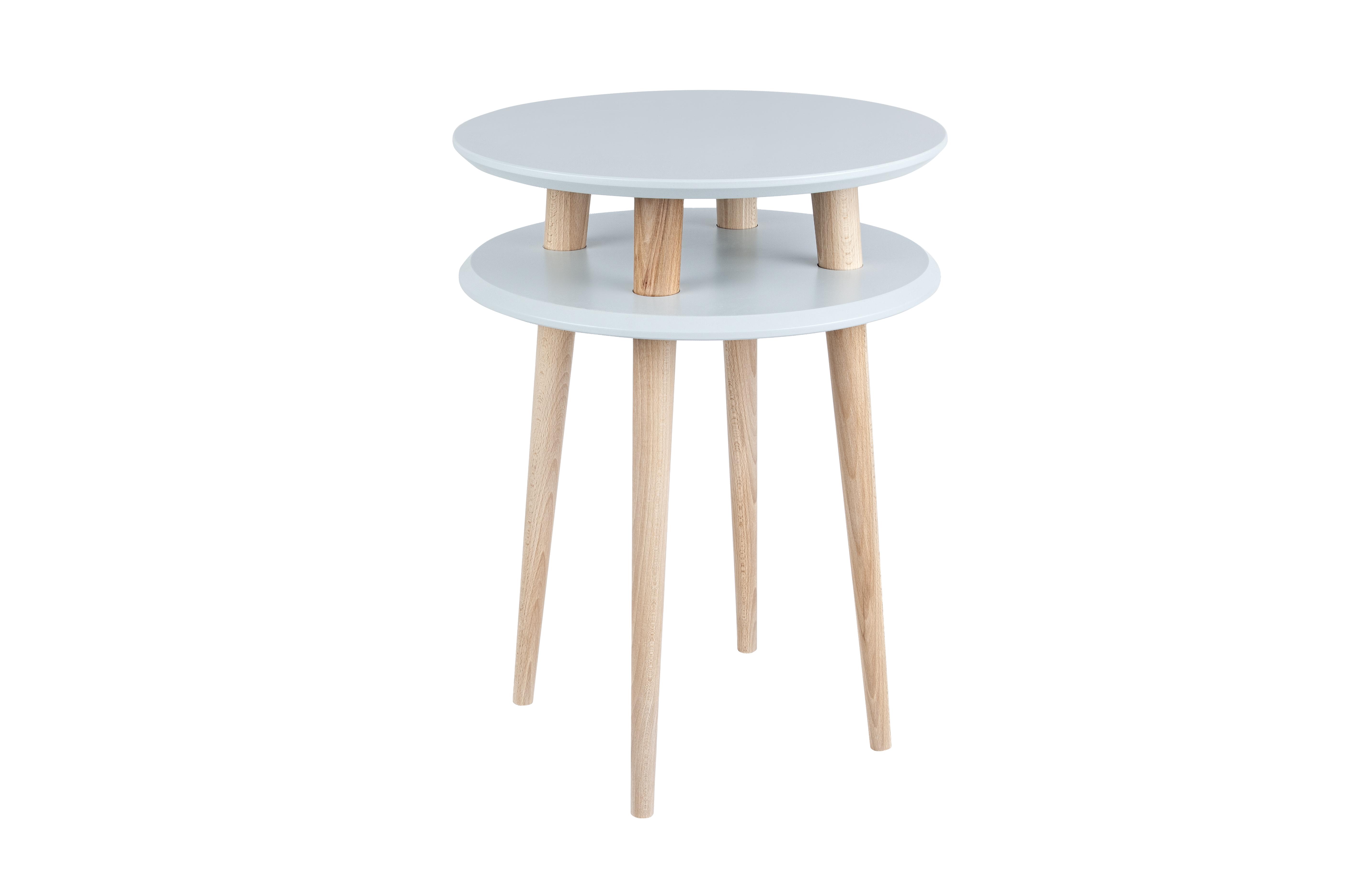 Masa de cafea Ufo High Light Grey, Ø45xh61 cm