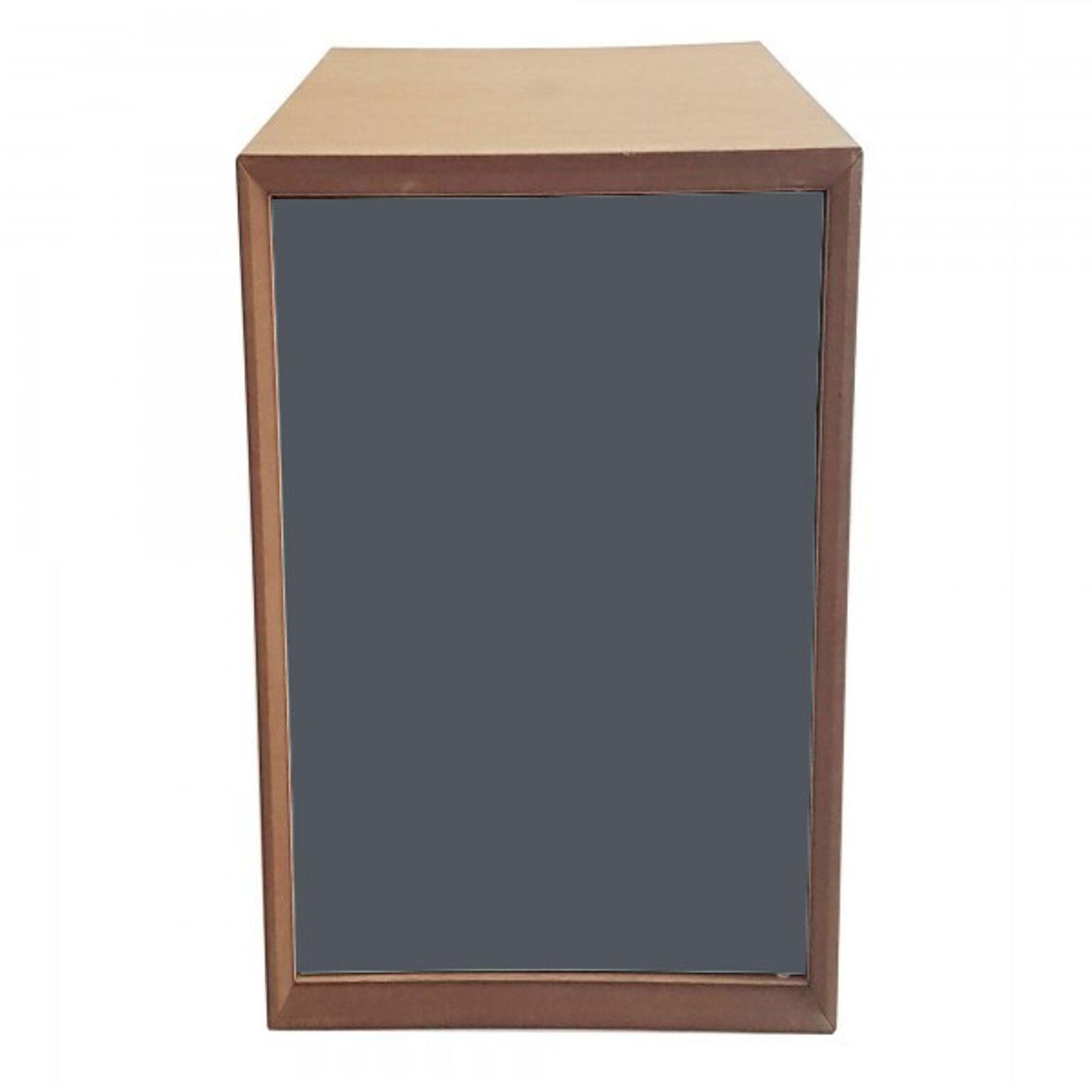 Dulap modular Pixel Graphite / Wooden, l40xA40xH80 cm