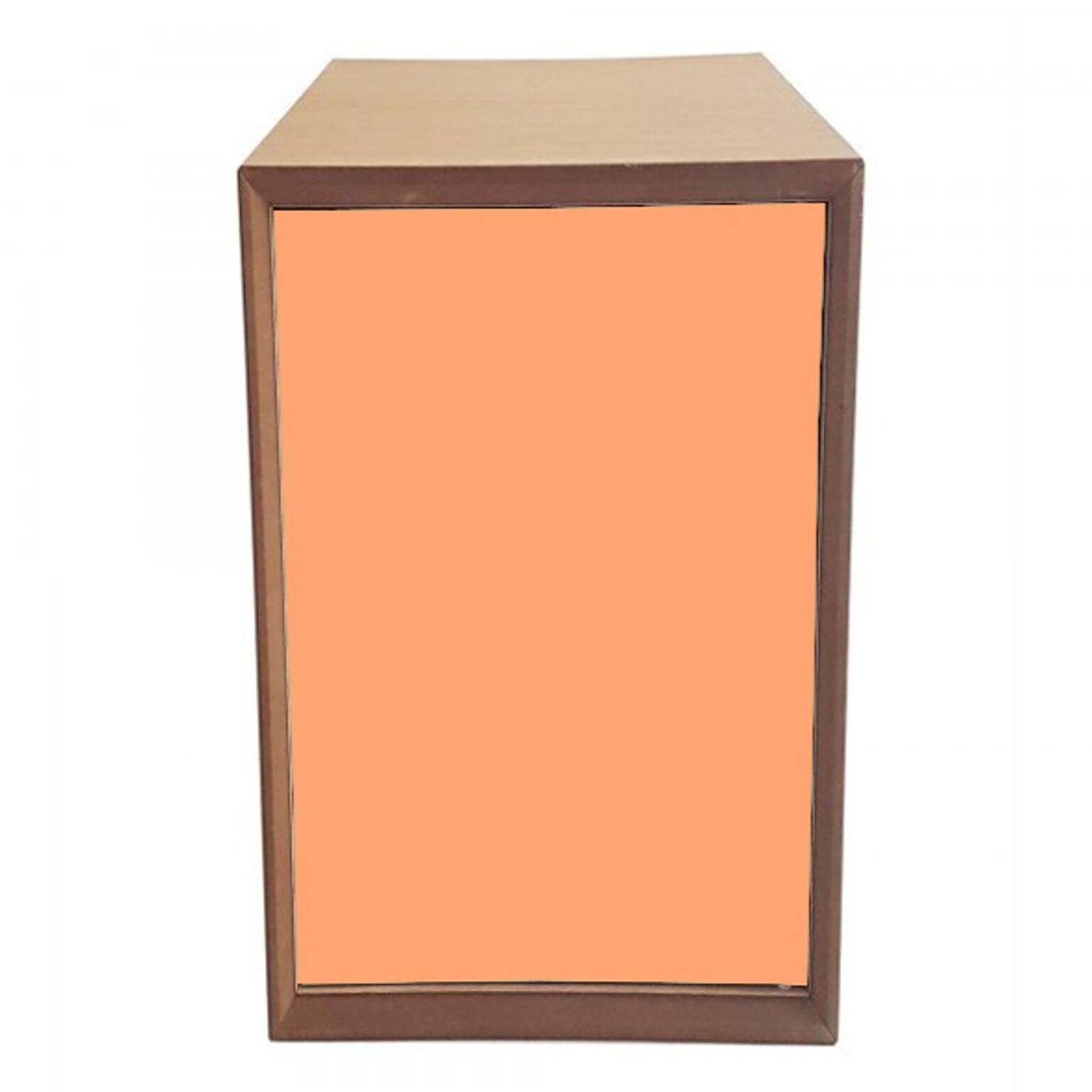Dulap modular Pixel Orange / Wooden l40xA40xH80 cm