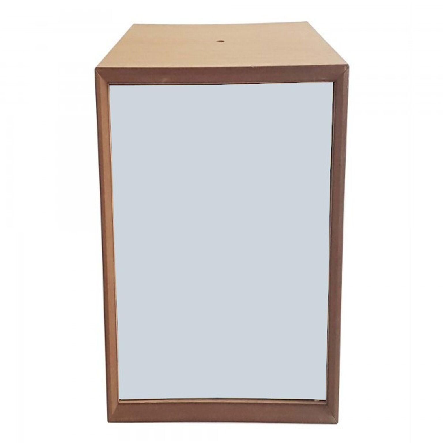 Dulap modular Pixel Light Grey / Wooden l40xA40xH80 cm