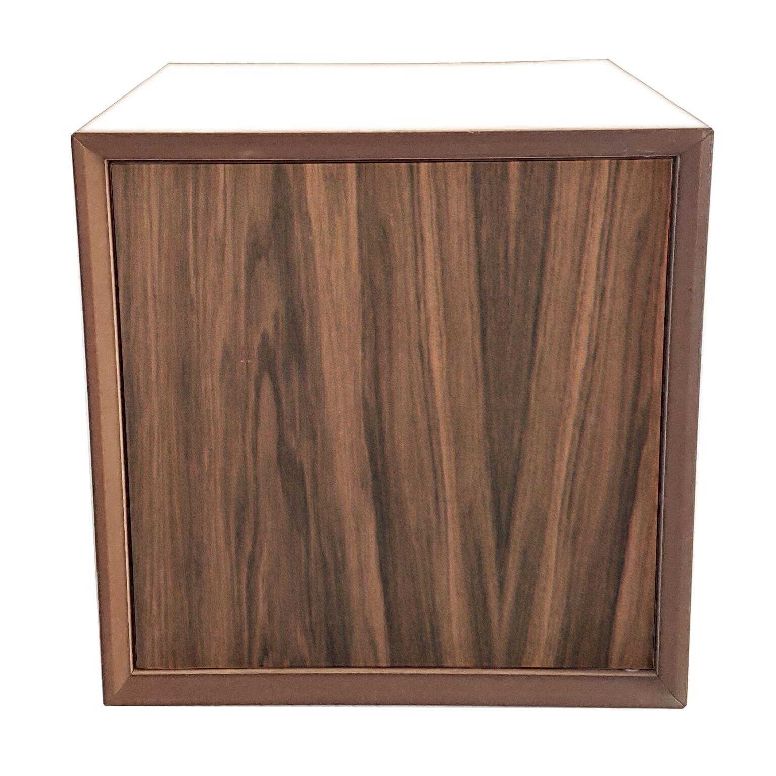 Dulap modular Pixel Wooden / White l40xA40xH40 cm