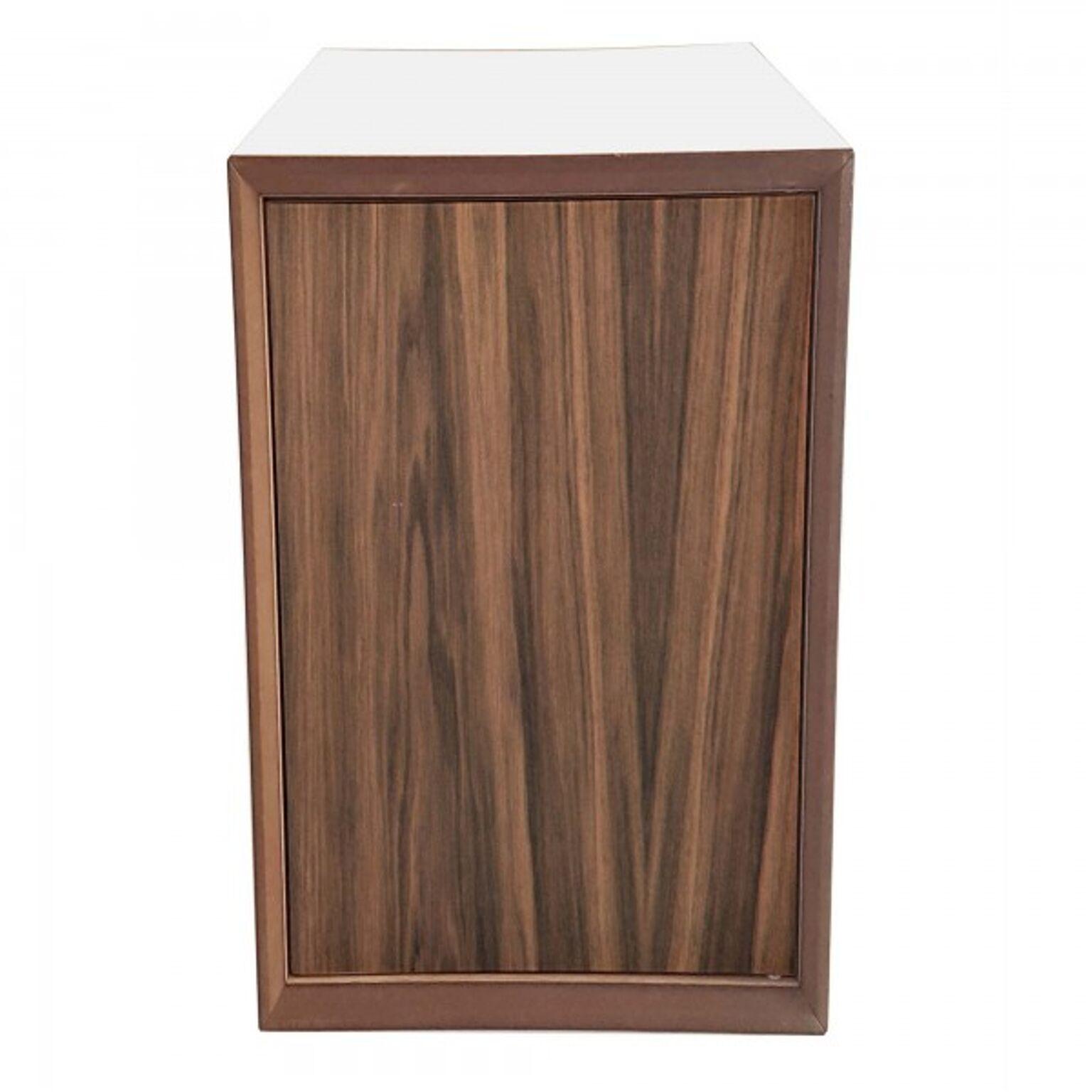 Dulap modular Pixel Wooden / White l40xA40xH80 cm