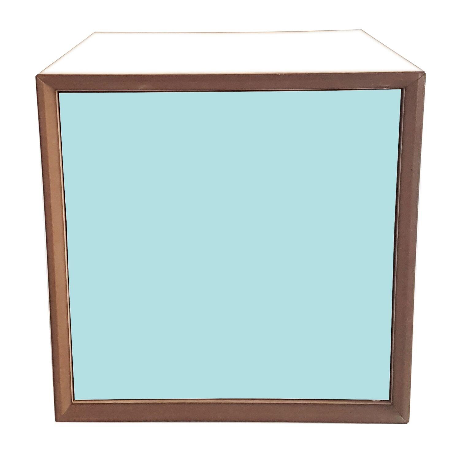 Dulap modular Pixel Light Turquoise / White l40xA40xH40 cm