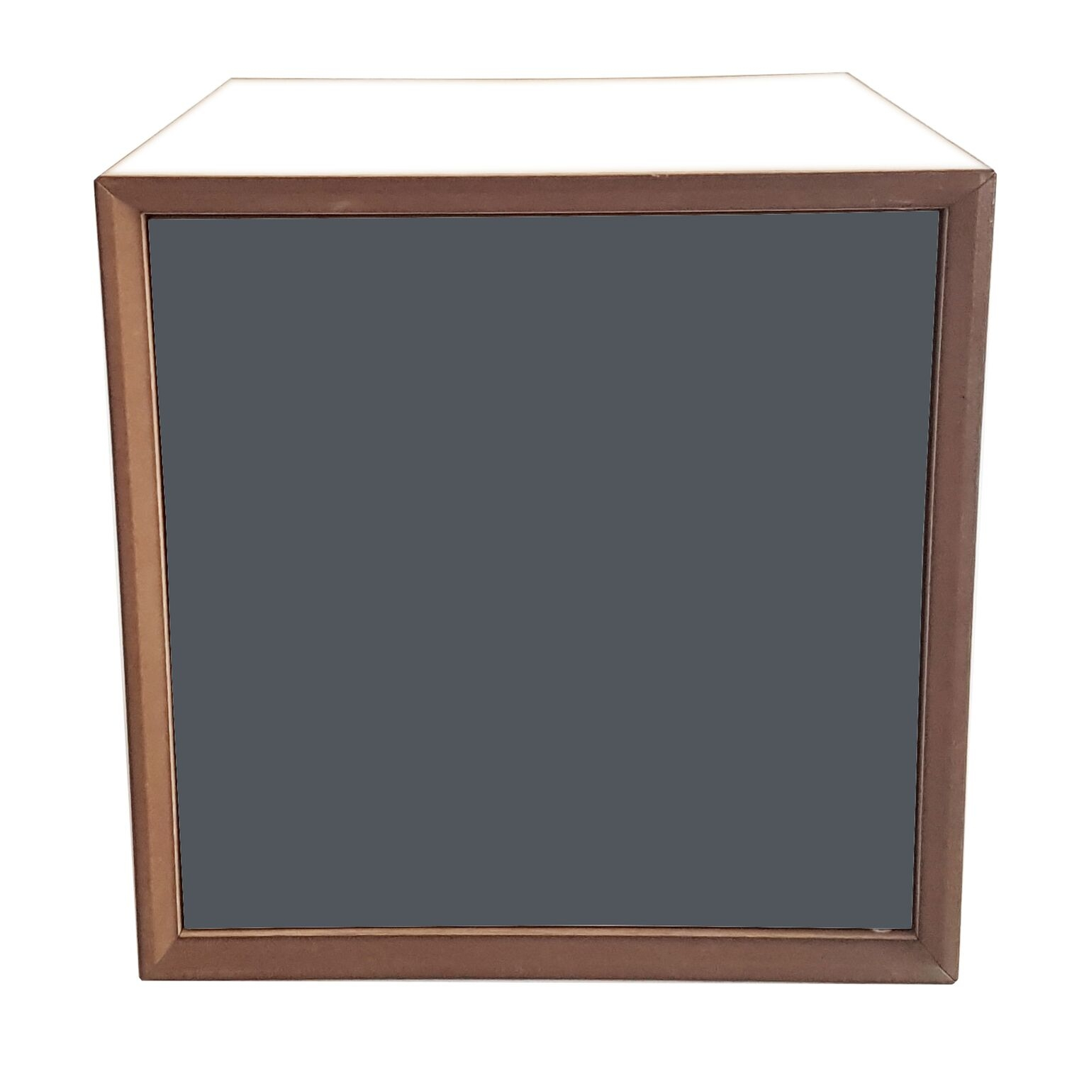 Dulap modular Pixel Graphite / White l40xA40xH40 cm
