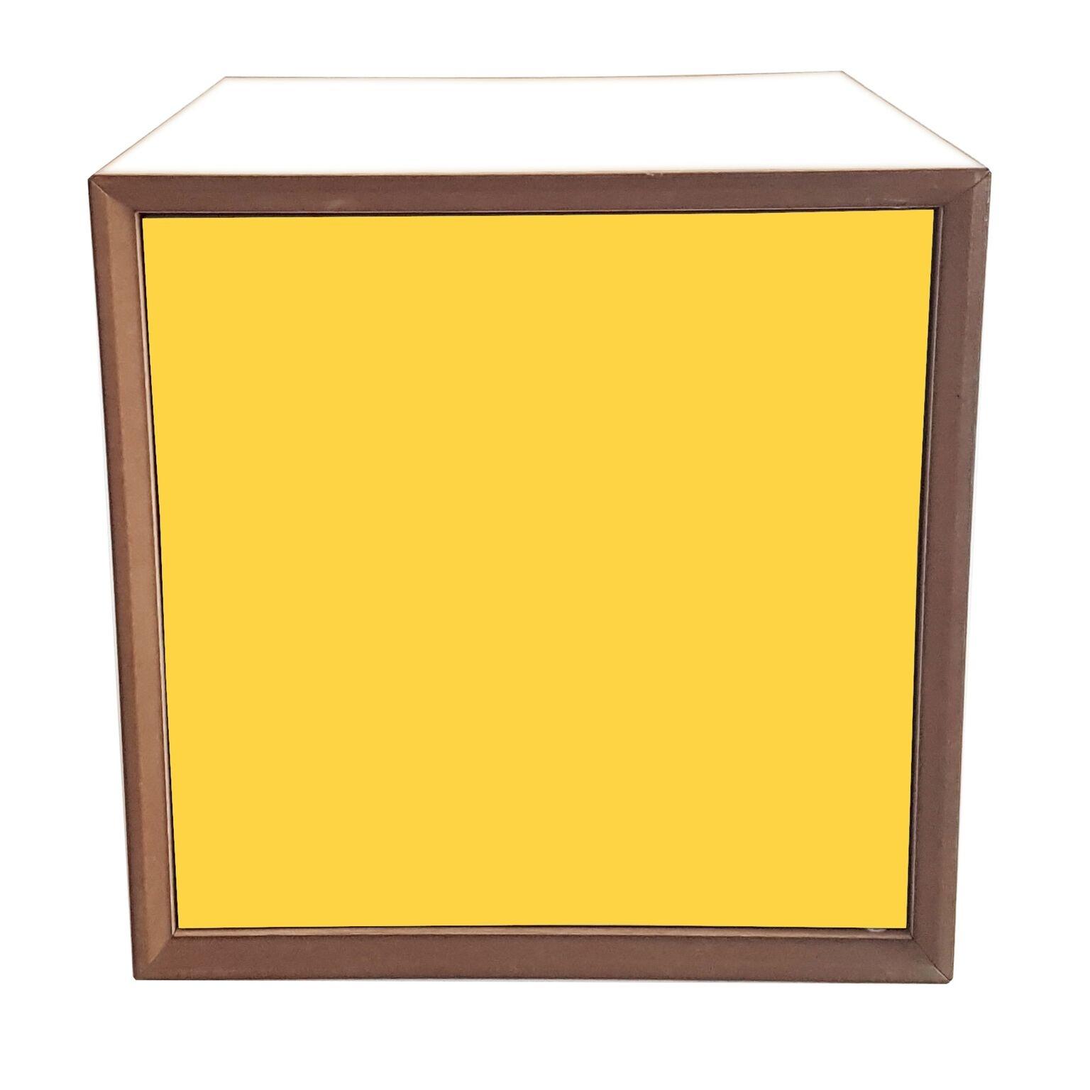 Dulap modular Pixel Yellow / White l40xA40xH40 cm