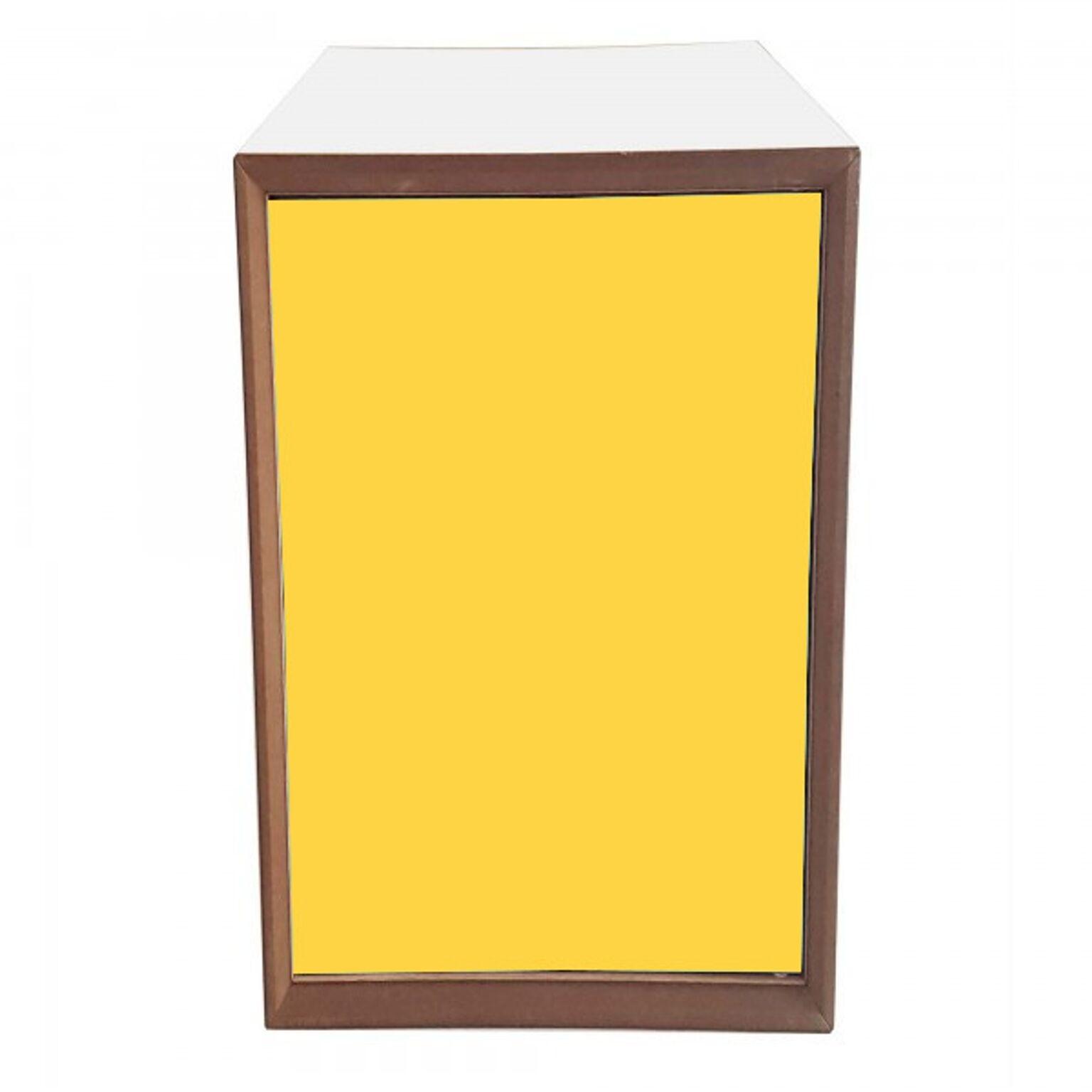 Dulap modular Pixel Yellow / White l40xA40xH80 cm