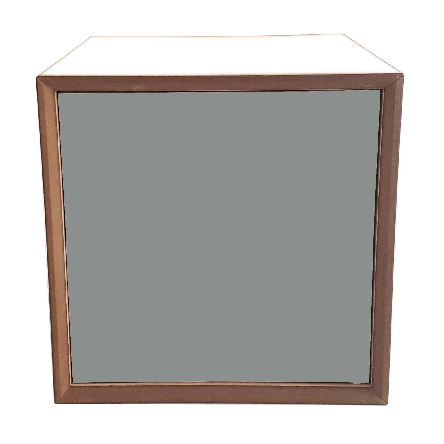 Dulap modular Pixel Dark Grey / White l40xA40xH40 cm