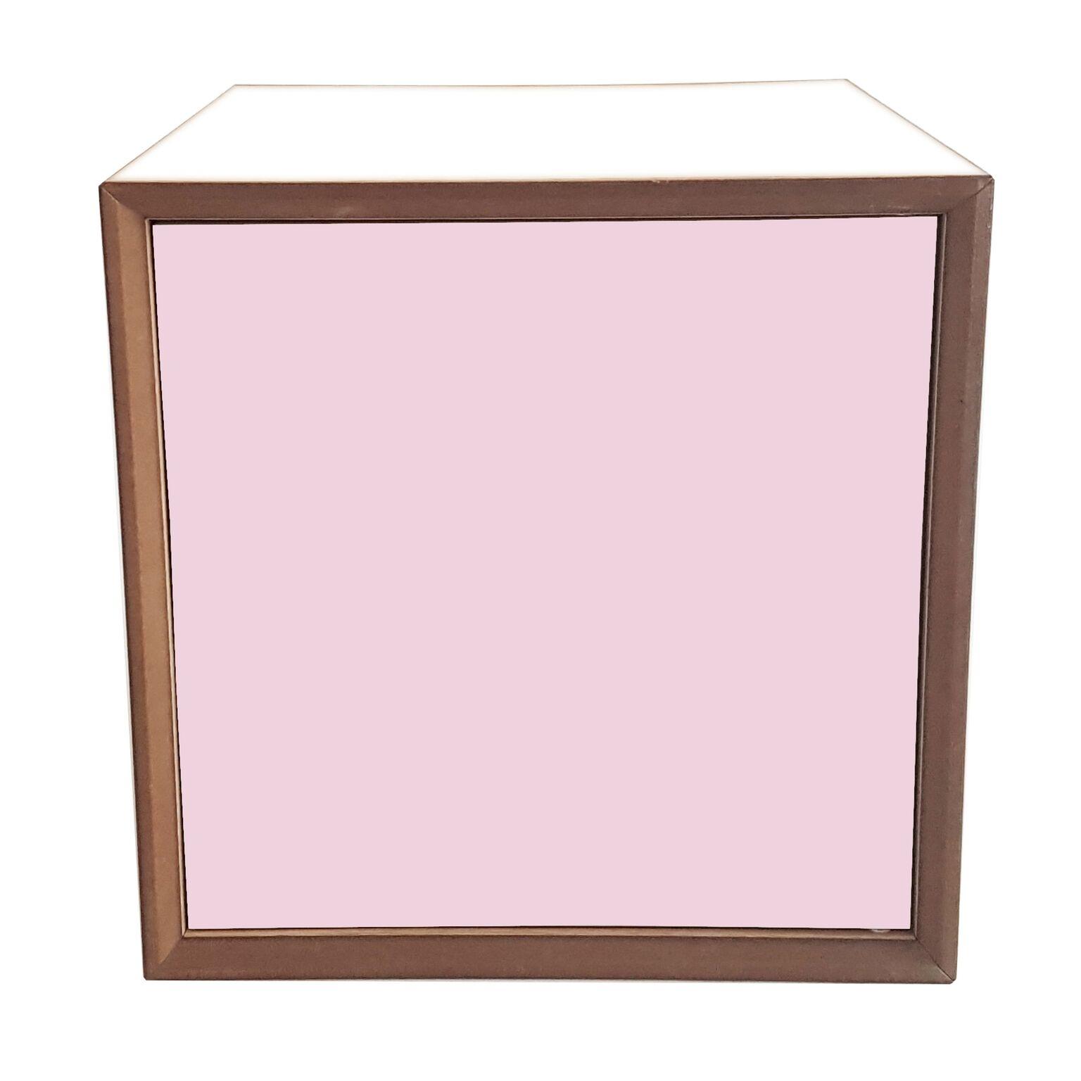 Dulap modular Pixel Dusky Pink / White l40xA40xH40 cm