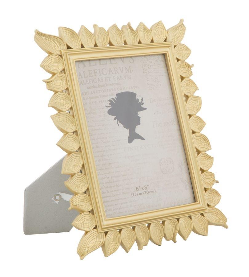 Rama foto decorativa din rasina Leaf Small Auriu 235 x 283 cm