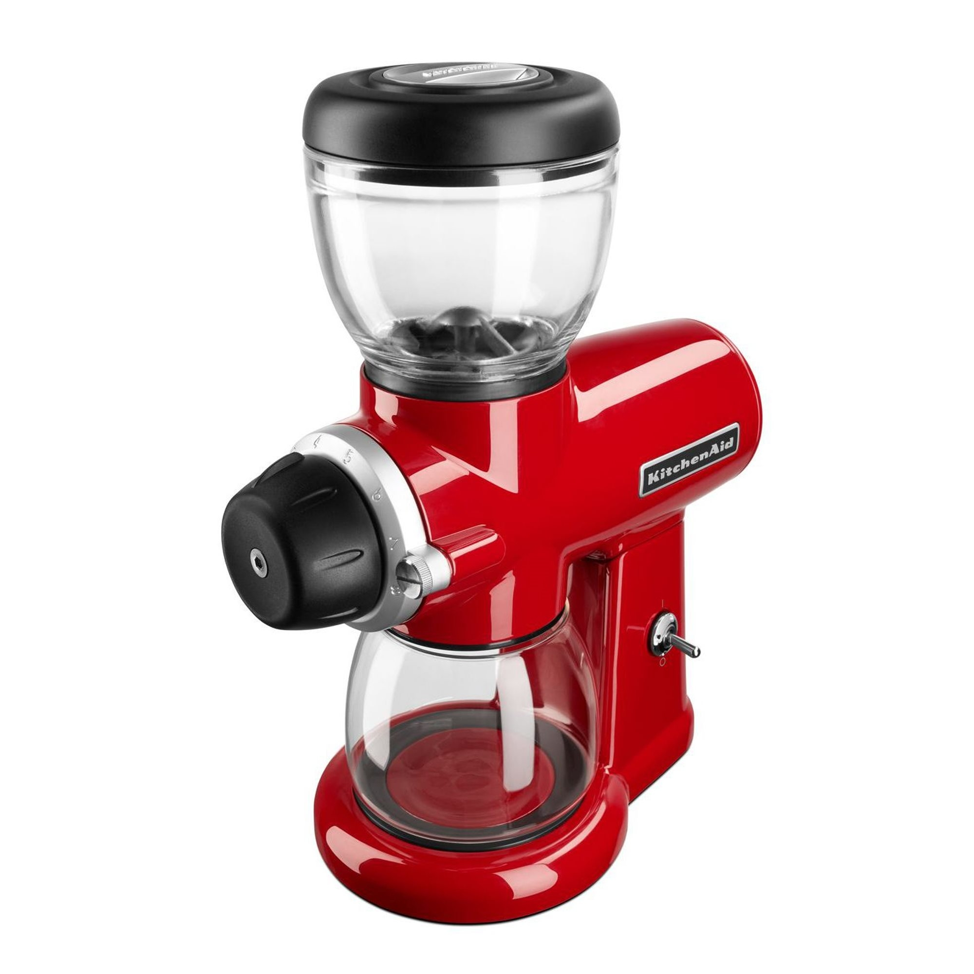 Rasnita Electrica Cafea Empire Kitchenaid Rosu