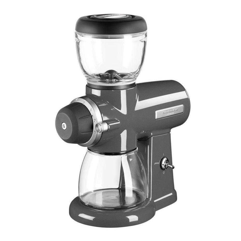 Rasnita electrica de cafea Medallion, KitchenAid-Gri