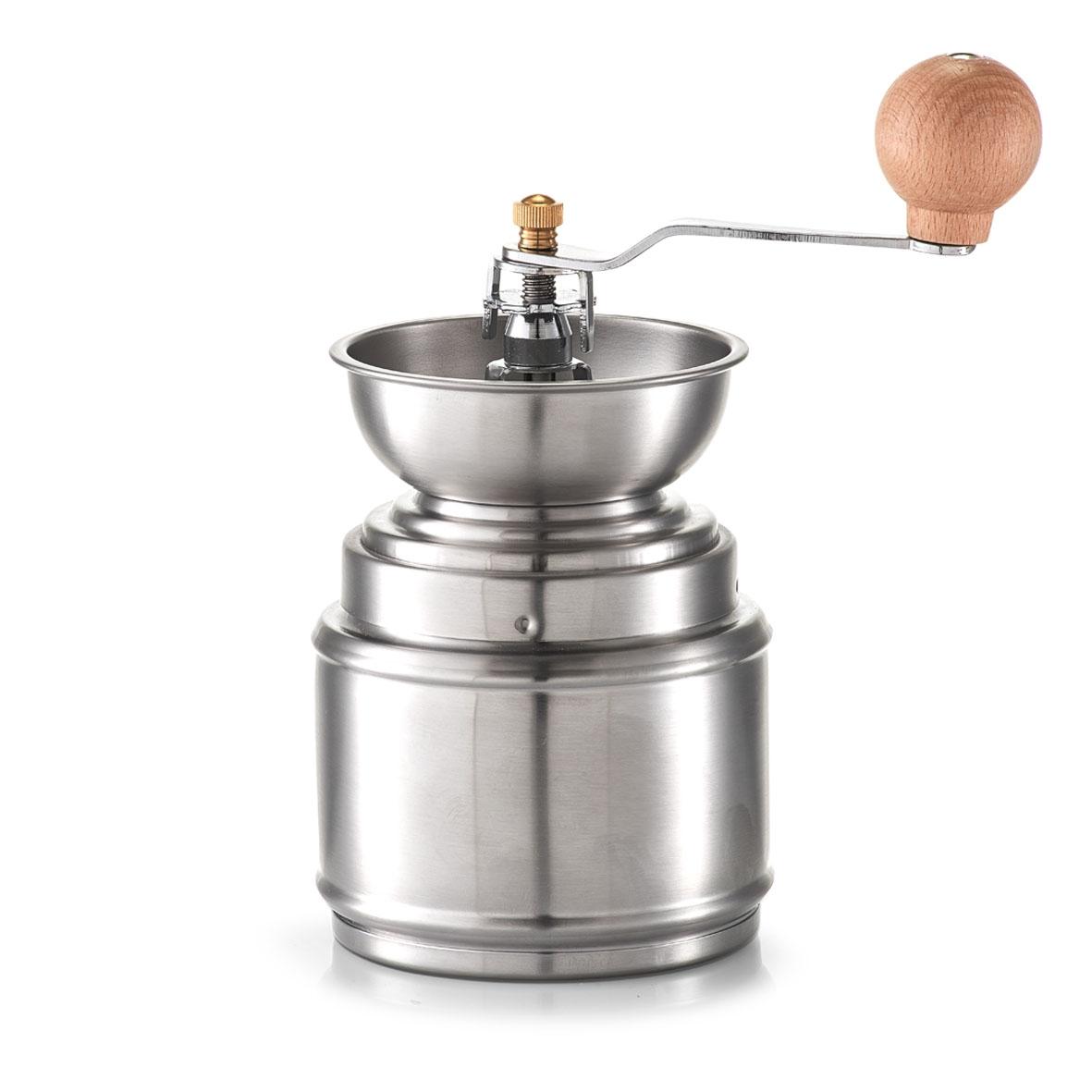 Rasnita manuala pentru cafea din inox Silver O 95xH16/22 cm