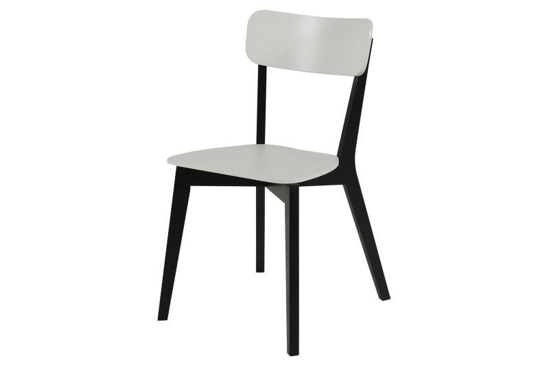 poze cu Set 2 scaune din lemn si MDF Raven White/Black