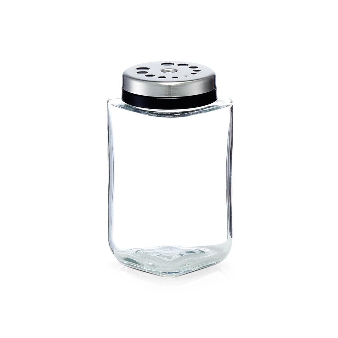 Recipient pentru condimente din sticla, 190 ml, l5,6xA5,6xH10,5 cm( 474794)