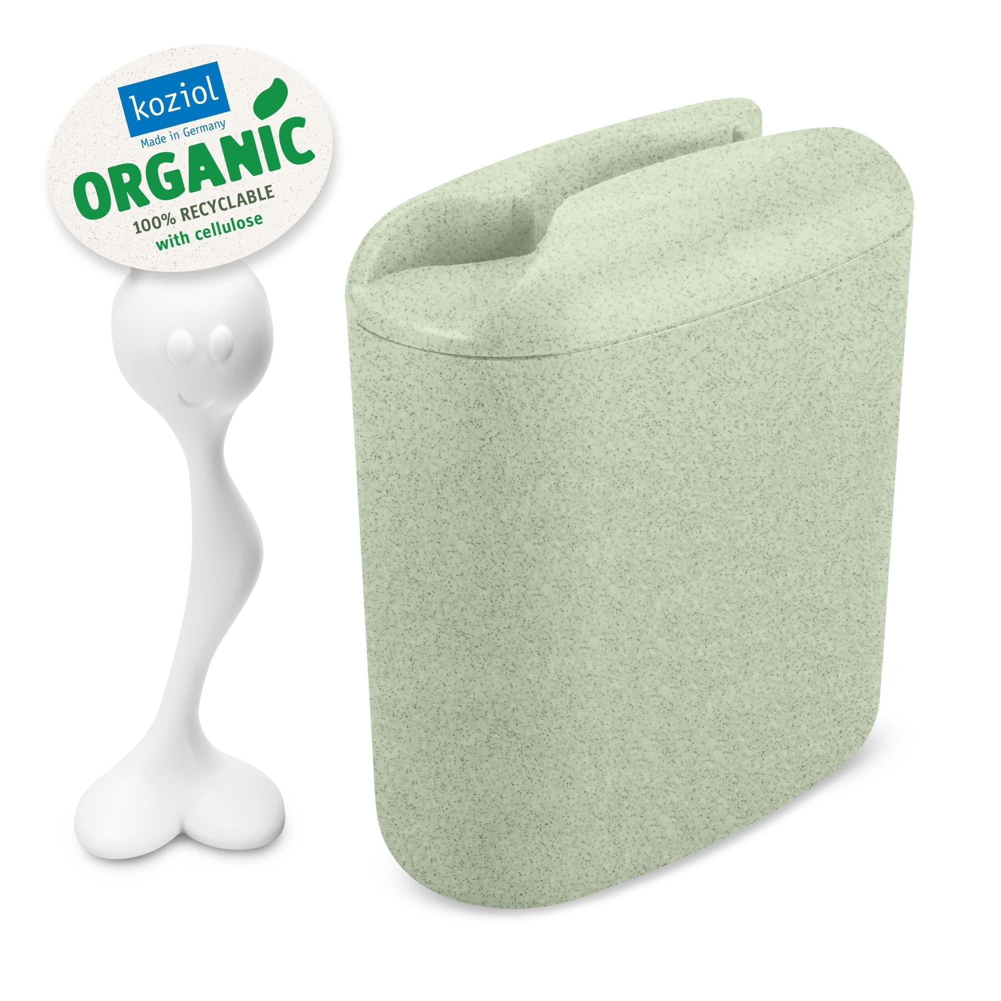 Recipient pentru depozitare cu capac, 100% Reciclabil, Hot Stuff L Verde, 1,5 L