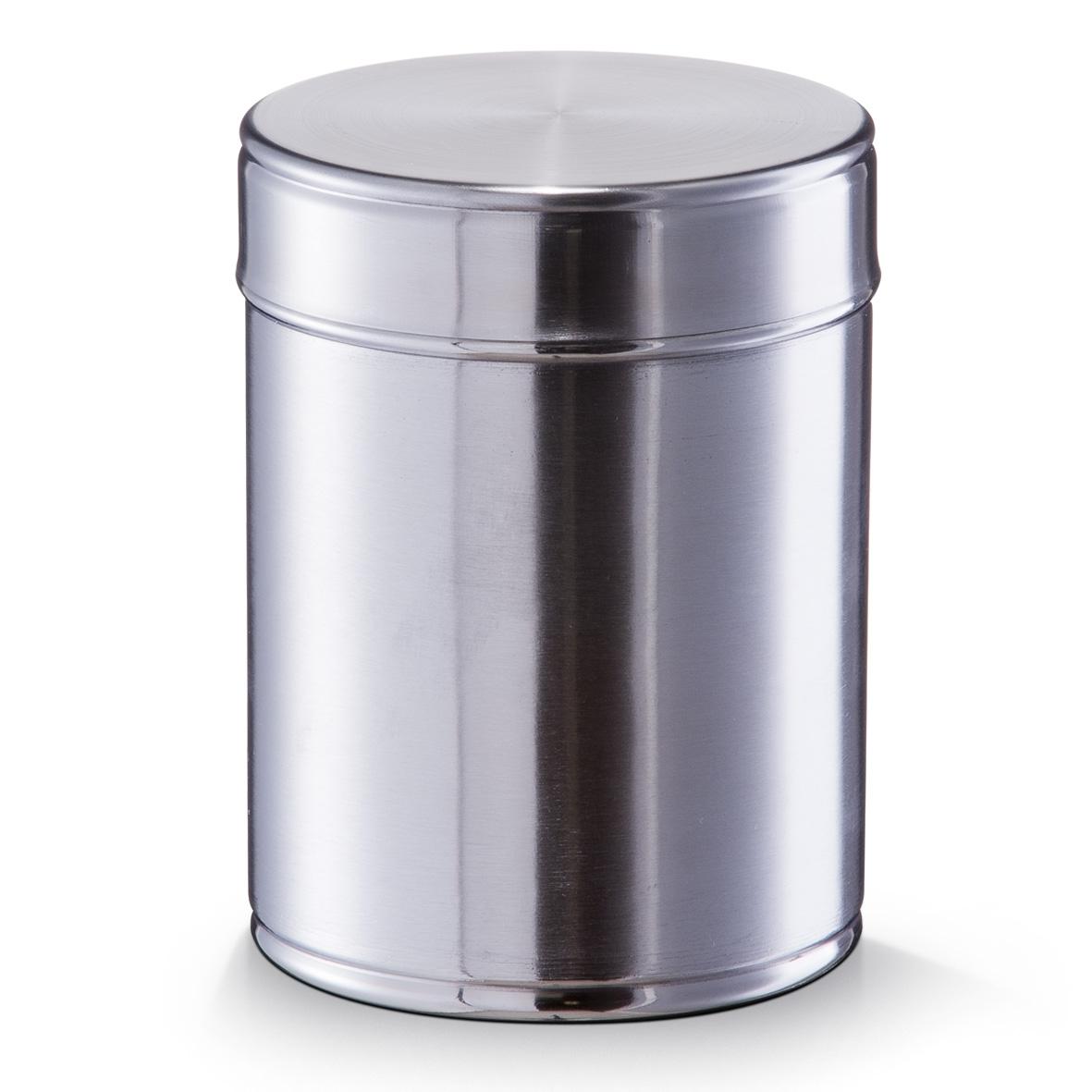 Recipient pentru depozitare din inox cu capac, 1400 ml, Ø 12xH15 cm imagine