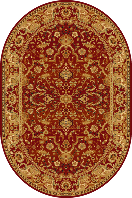 Covor Rejent Ruby Oval Wilton