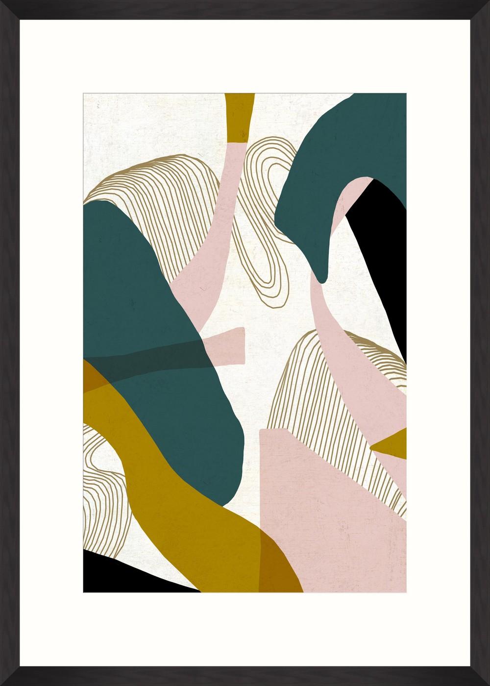 Tablou Framed Art Retro Abstract II