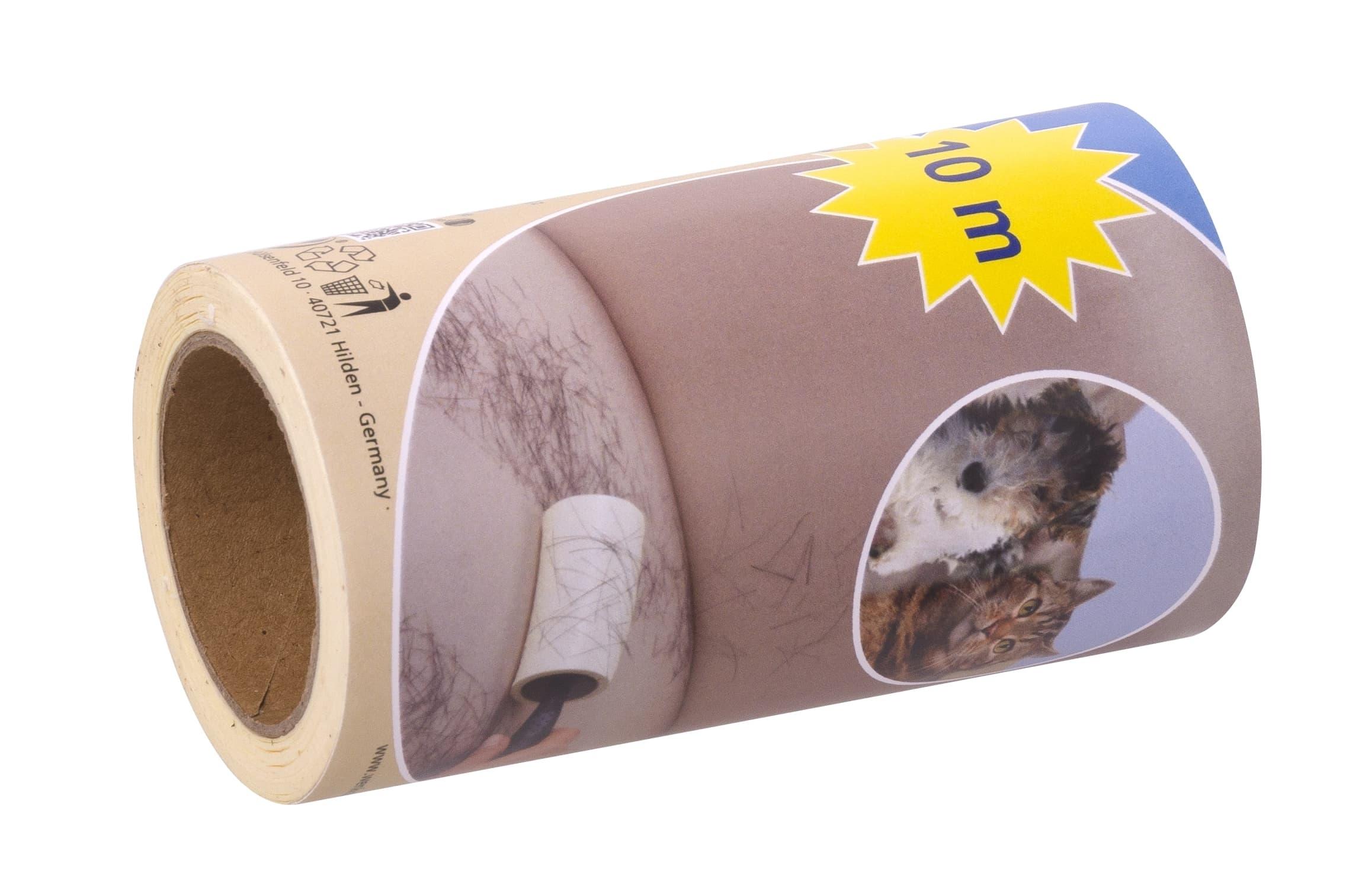 Rezerva rola adeziva pentru scame si par de animale, Jumbo, 60 de foi imagine