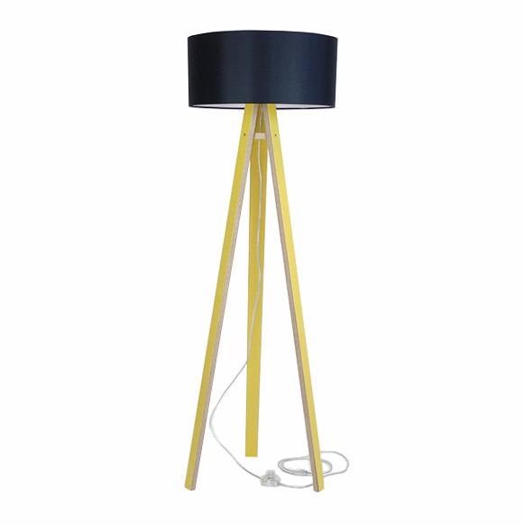 Lampadar Lamp Wanda Black Yellow