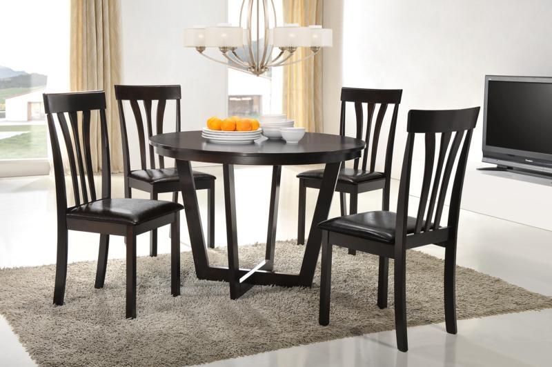 Set masa din MDF si furnir + 4 scaune Venneto