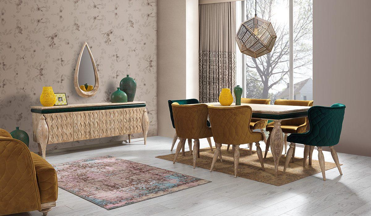 Set de mobila living Rios Natural