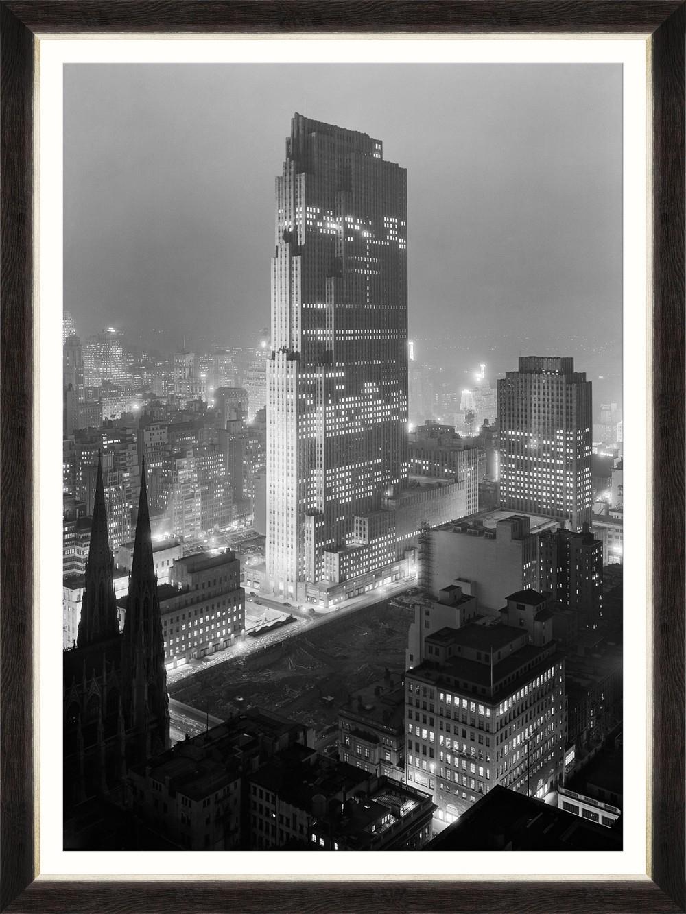 Tablou Framed Art Rockefeller Center 1933 somproduct.ro