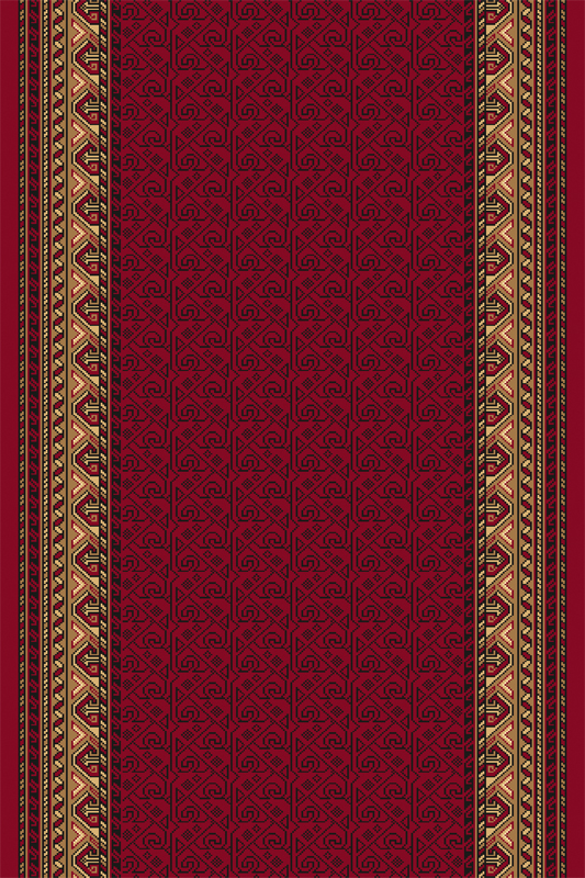 Traversa Rogatek Dark Red Wilton