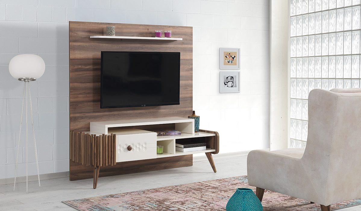 Comoda Tv cu etajera Roma