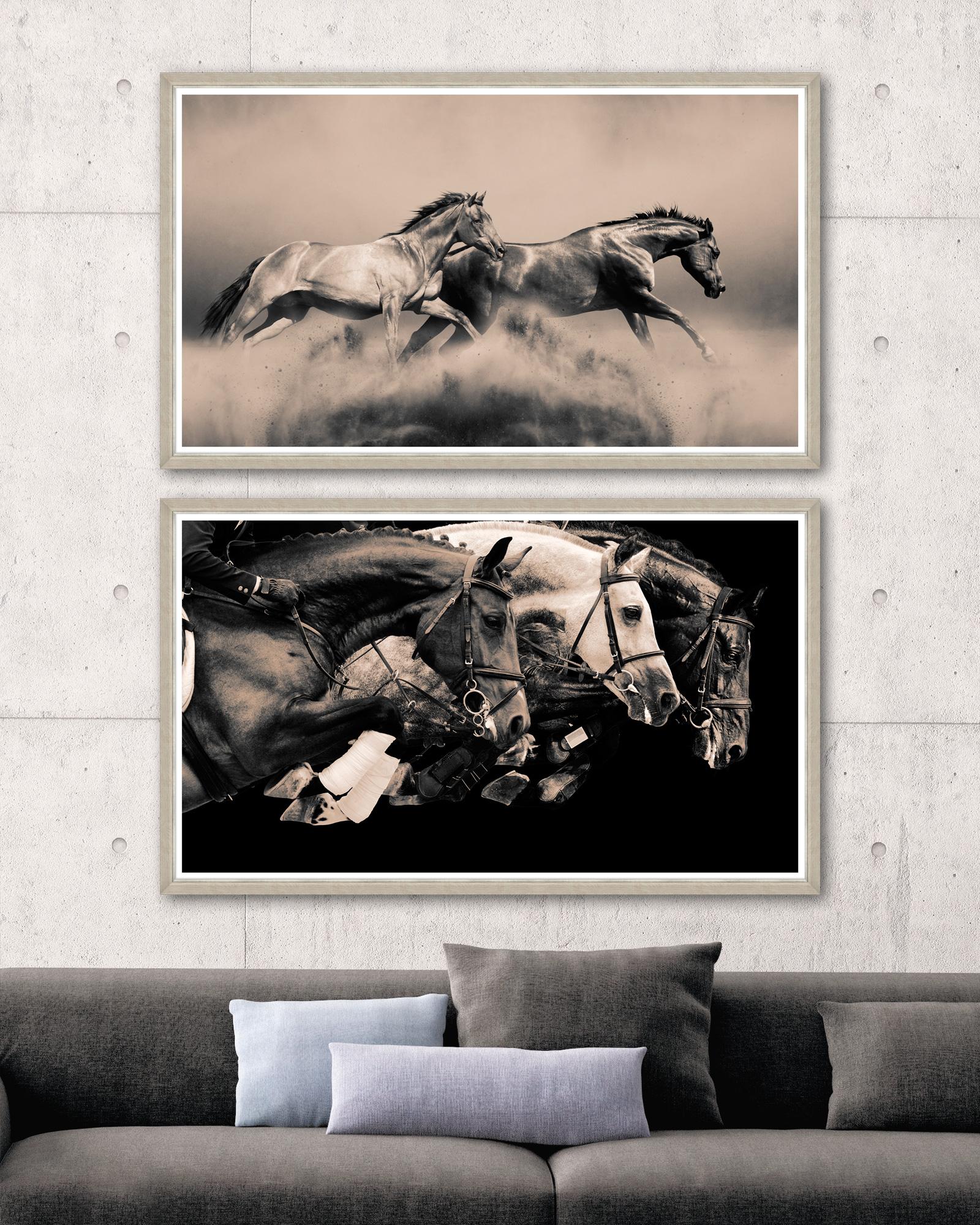 Tablou 2 piese Framed Art Running Horses