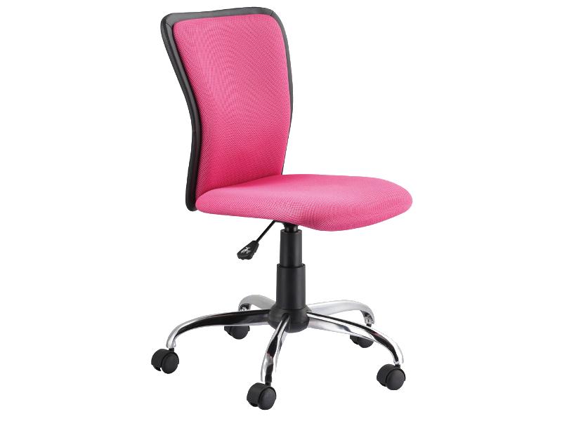 Scaun de birou ergonomic Q-099 Roz title=Scaun de birou ergonomic Q-099 Roz