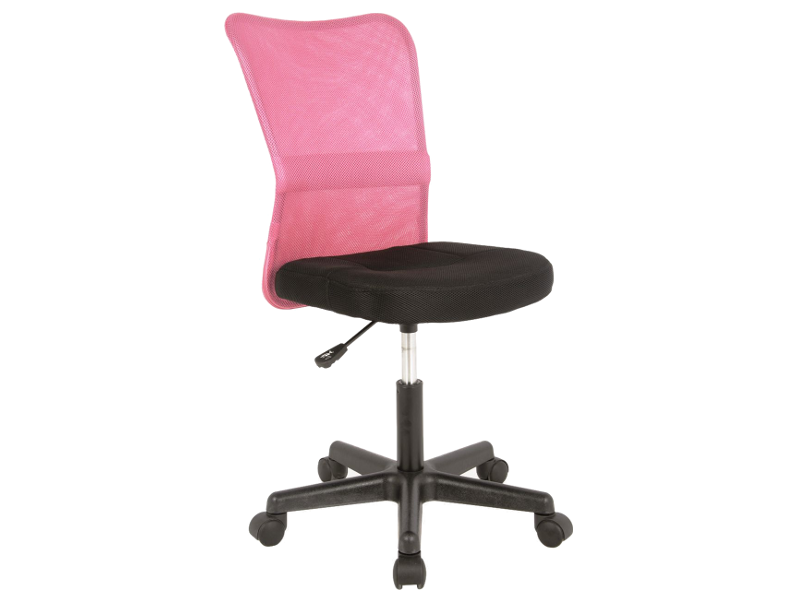 Scaun de birou ergonomic Q-121 Roz