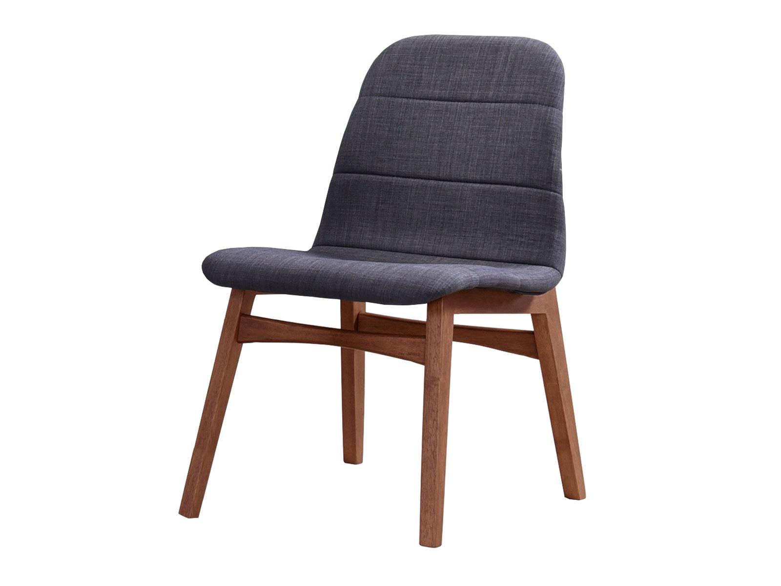 Scaun din lemn tapitat cu stofa Mia l495xA57xH835 cm