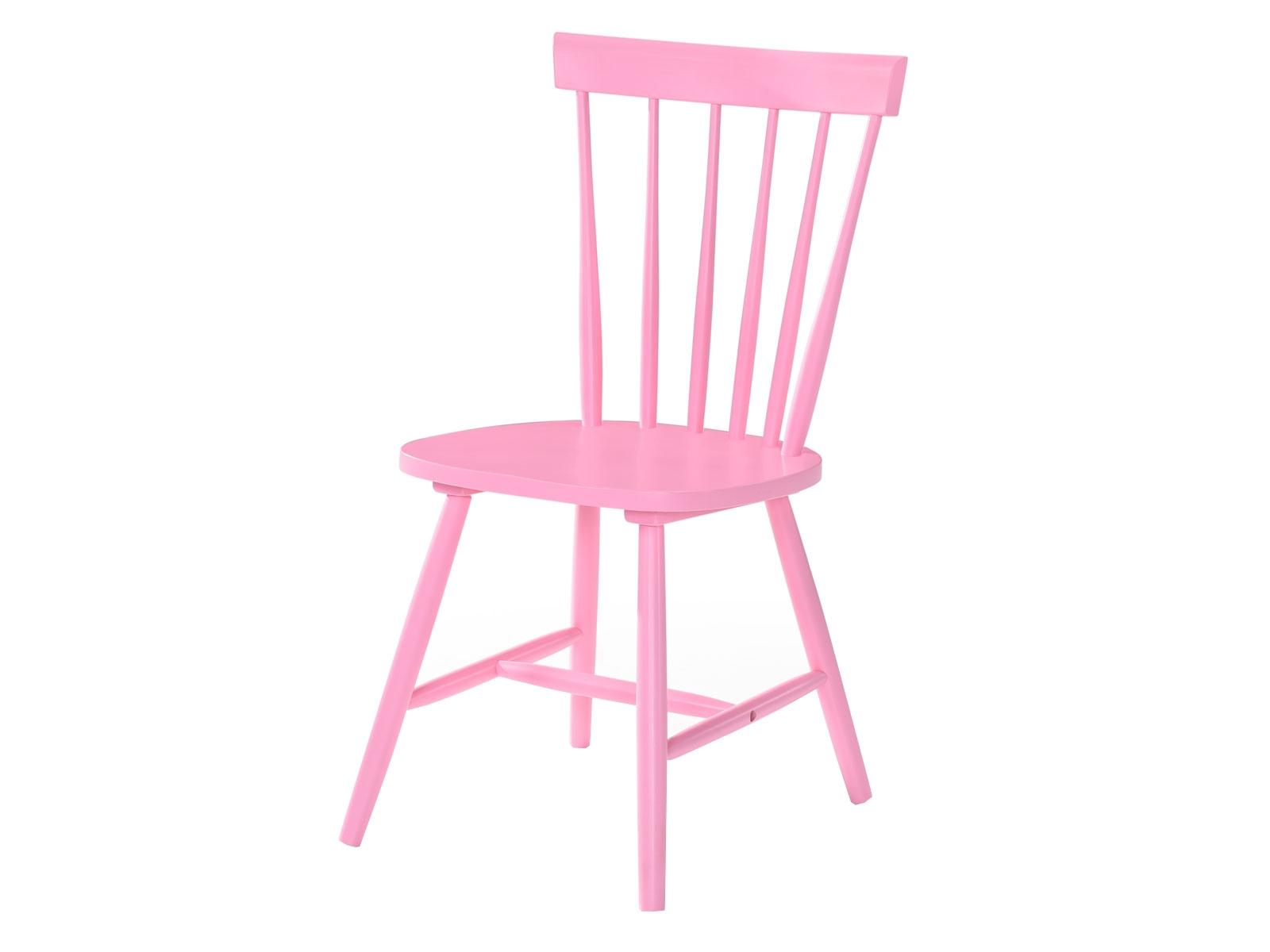 Scaun din lemn Guus Pink l44xA49xH885 cm